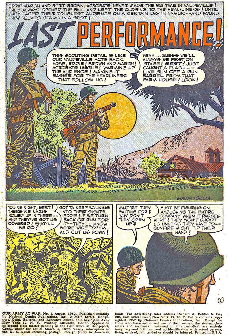 at War (1952) Issue #248 #301 - English 3