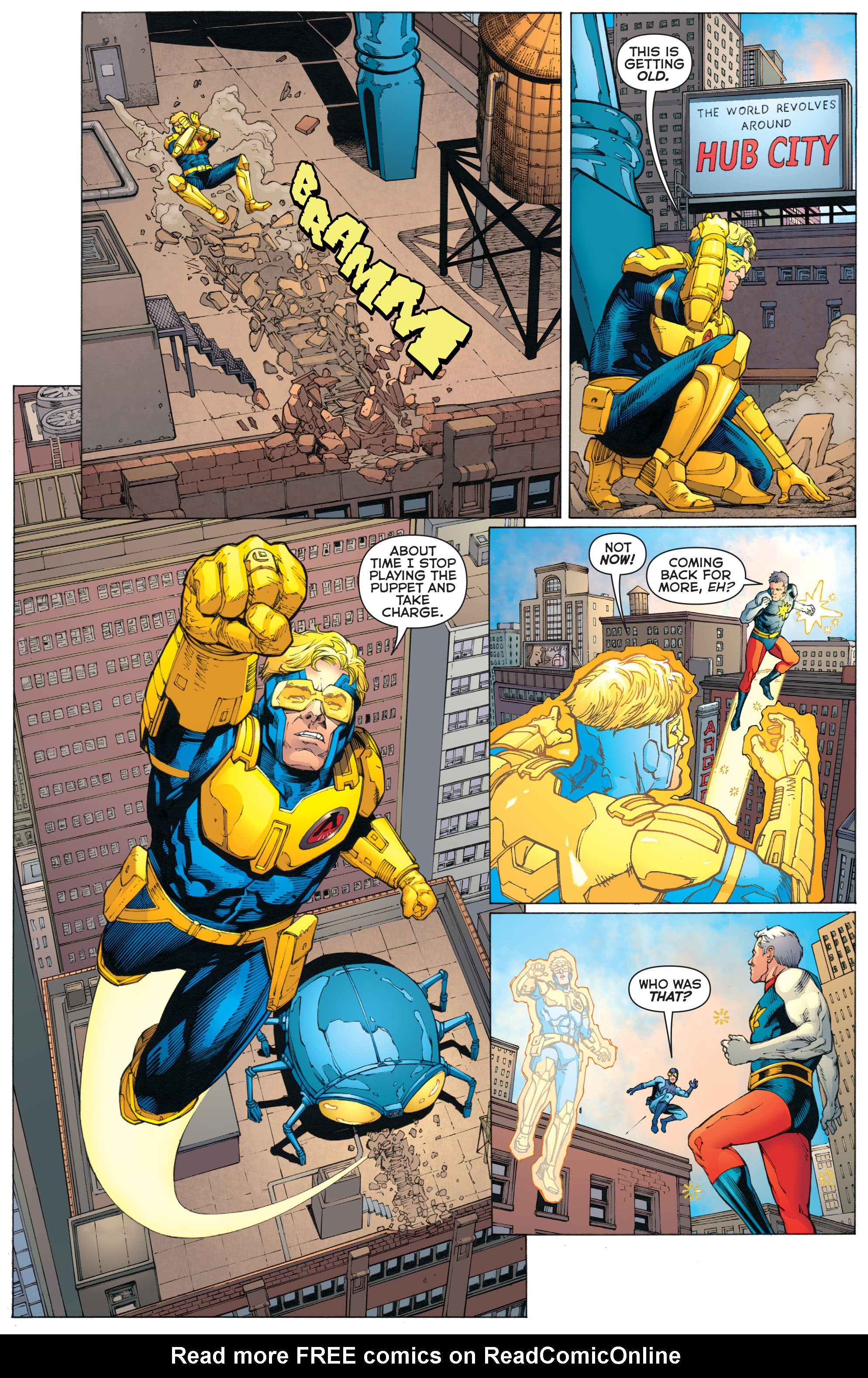 Read online Booster Gold: Futures End comic -  Issue # Full - 12