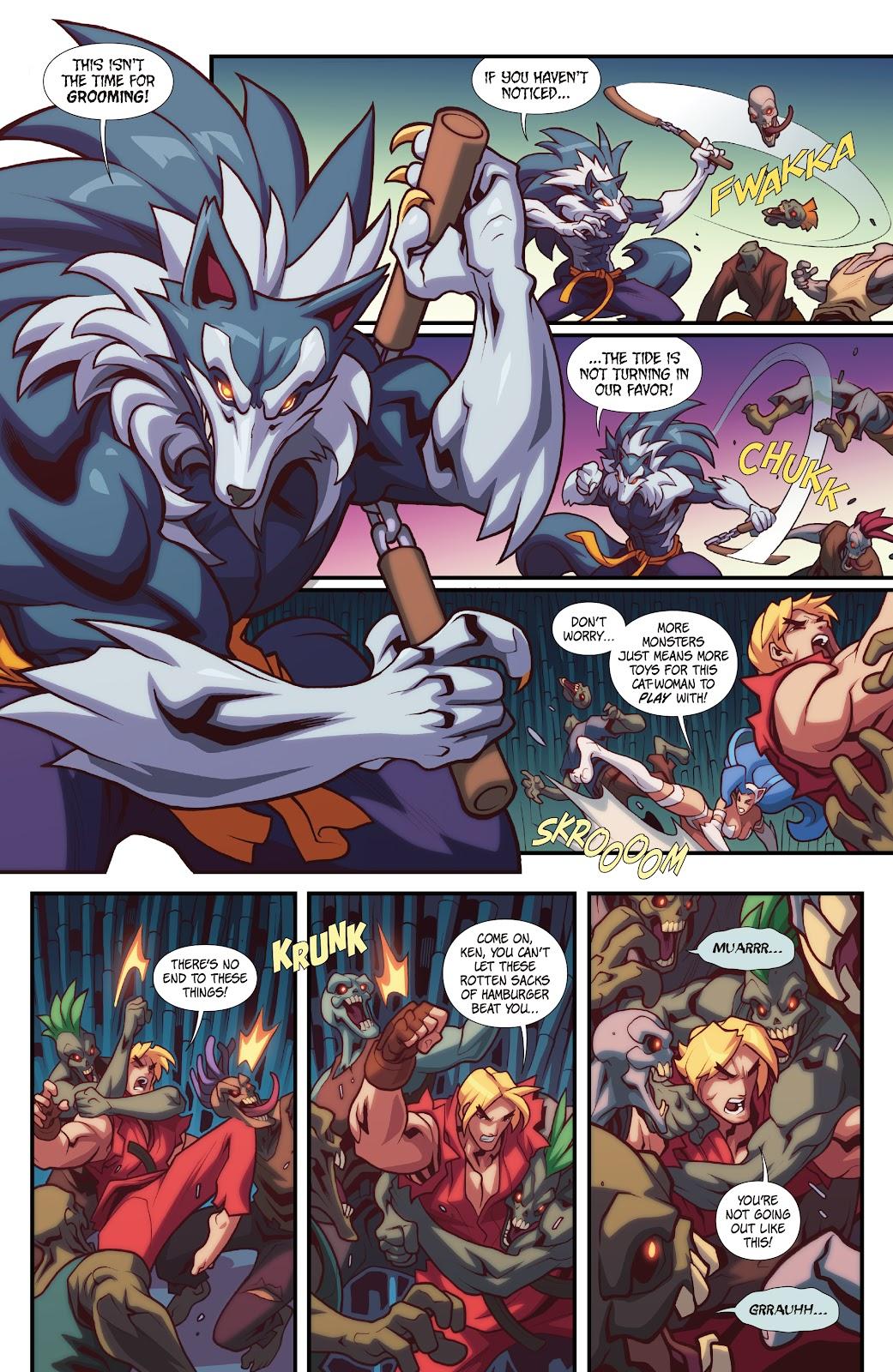 Street Fighter VS Darkstalkers Issue #2 #3 - English 14