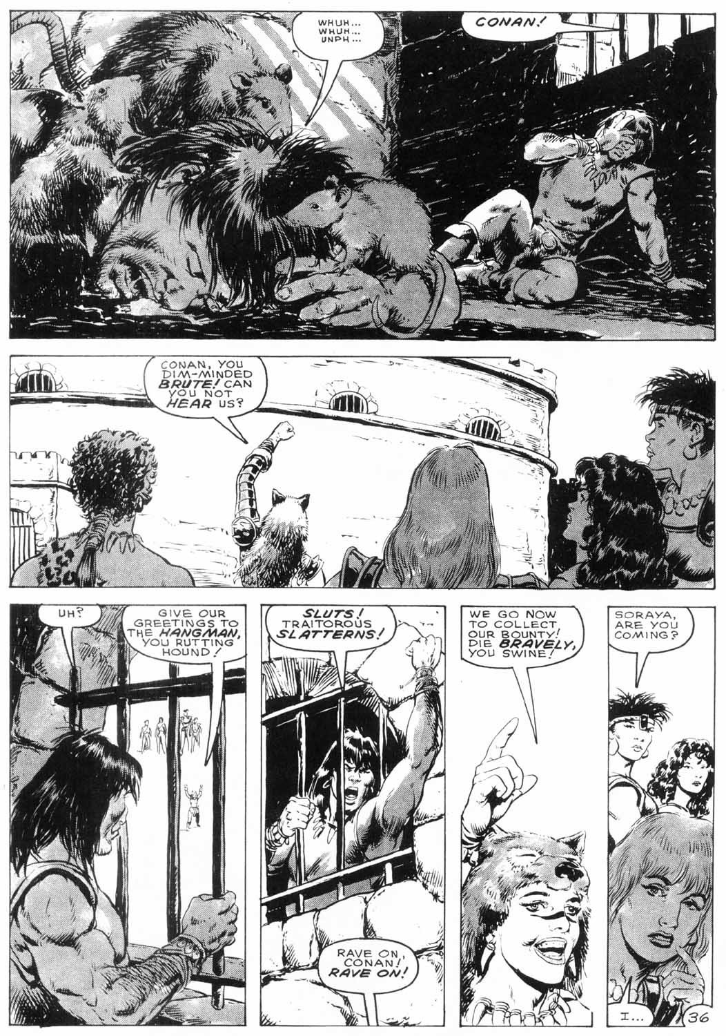 The Savage Sword Of Conan Issue #154 #155 - English 37