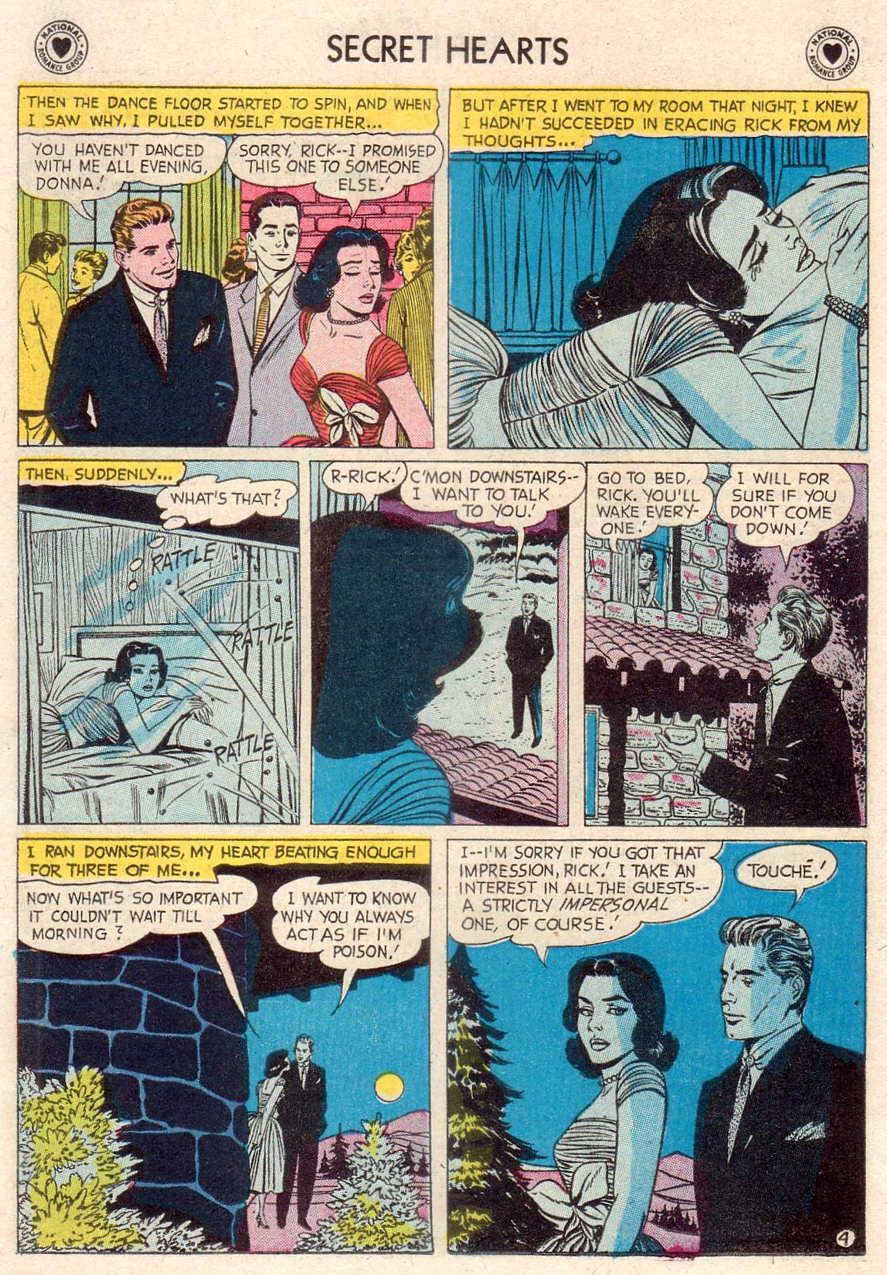 Read online Secret Hearts comic -  Issue #46 - 22
