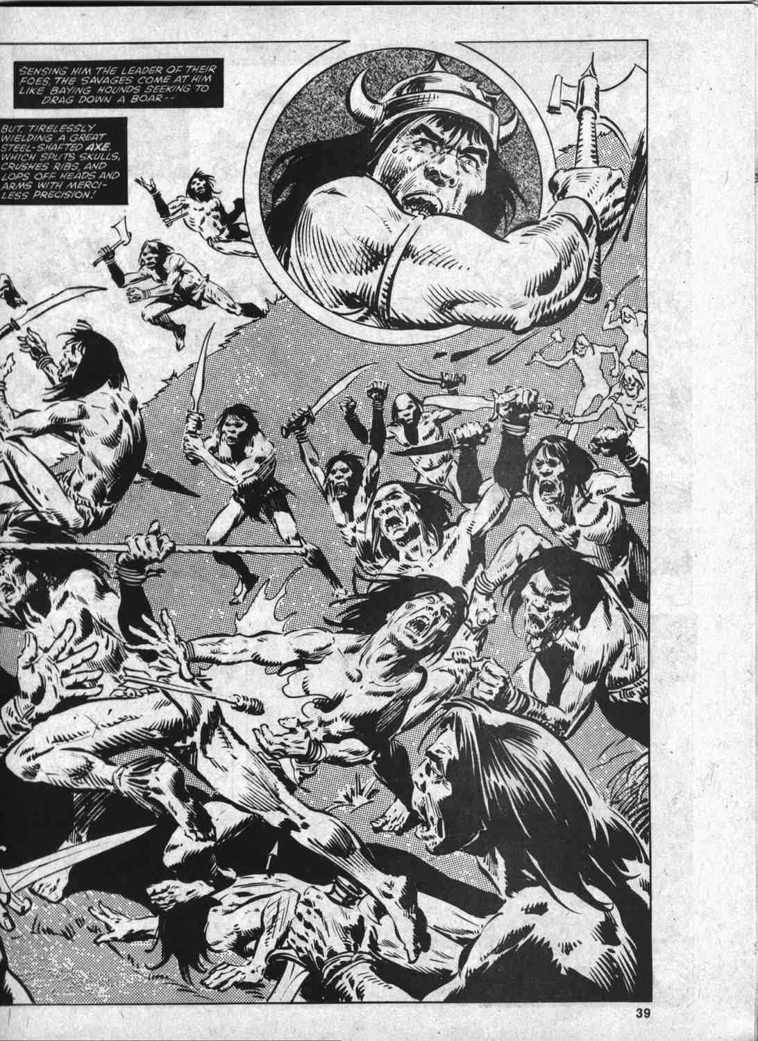 The Savage Sword Of Conan Issue #46 #47 - English 38