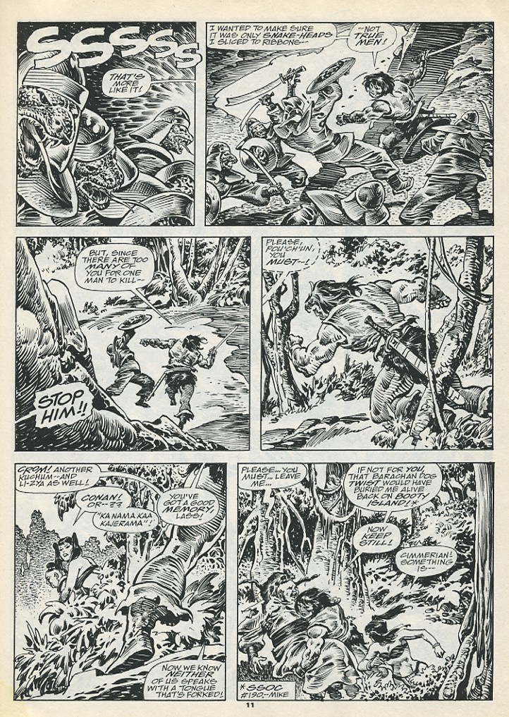 The Savage Sword Of Conan Issue #193 #194 - English 13
