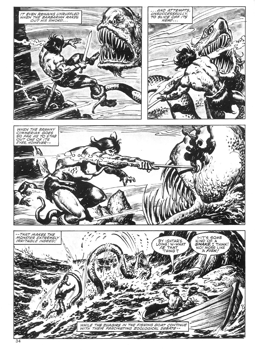The Savage Sword Of Conan Issue #87 #88 - English 34