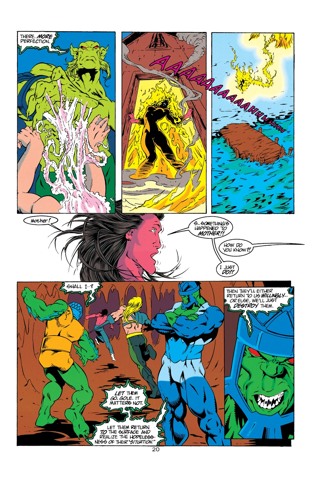 Aquaman (1994) Issue #6 #12 - English 21