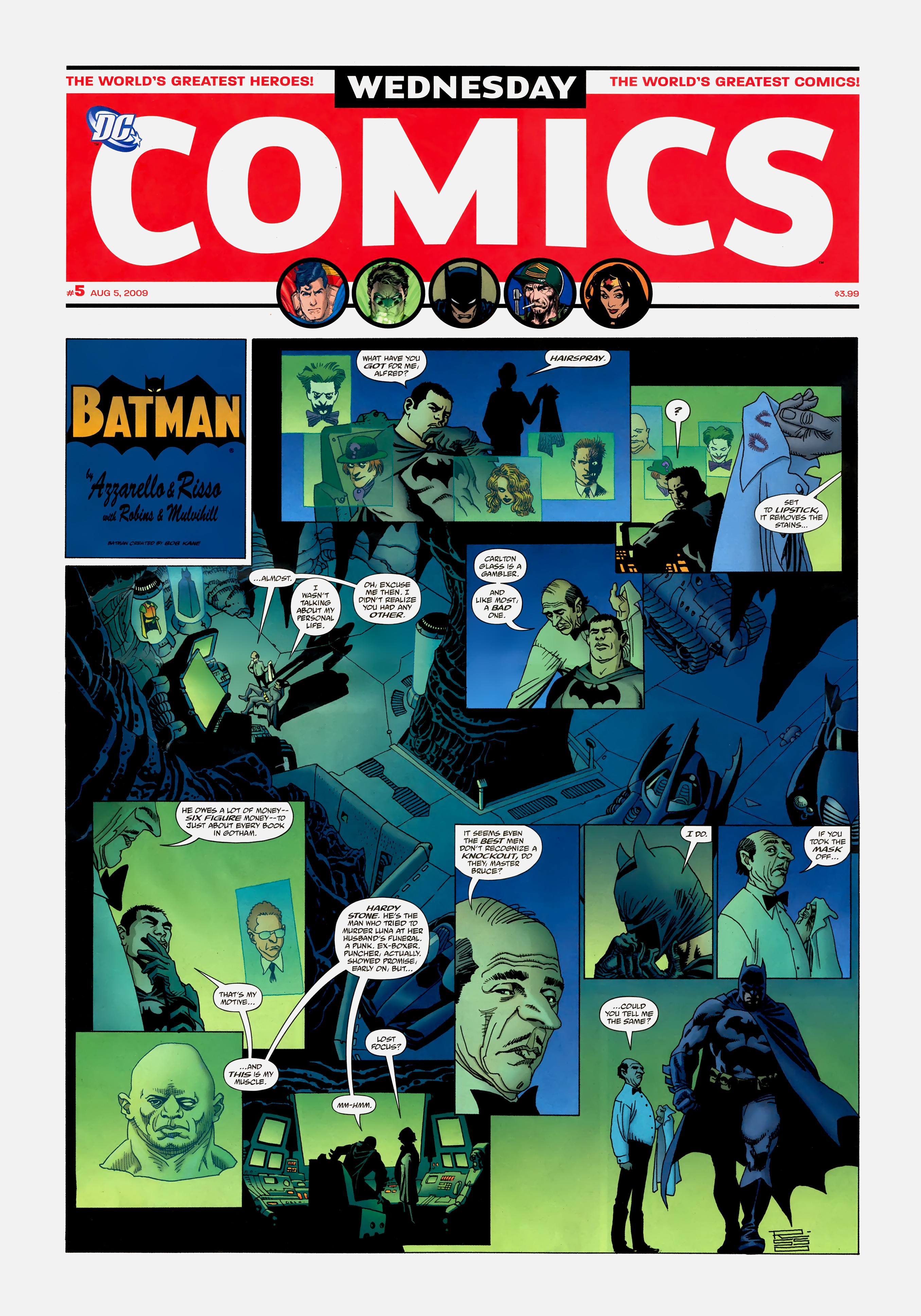 Read online Wednesday Comics comic -  Issue #5 - 2