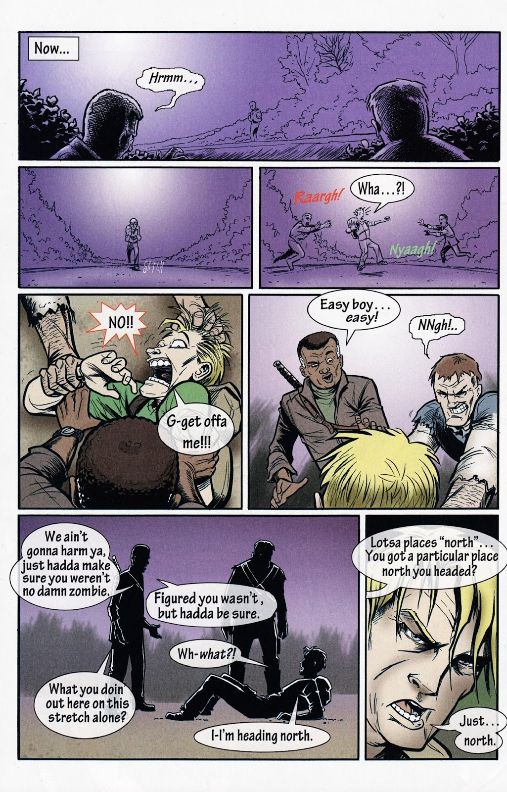 Zombies vs Cheerleaders Issue #1 Page 31