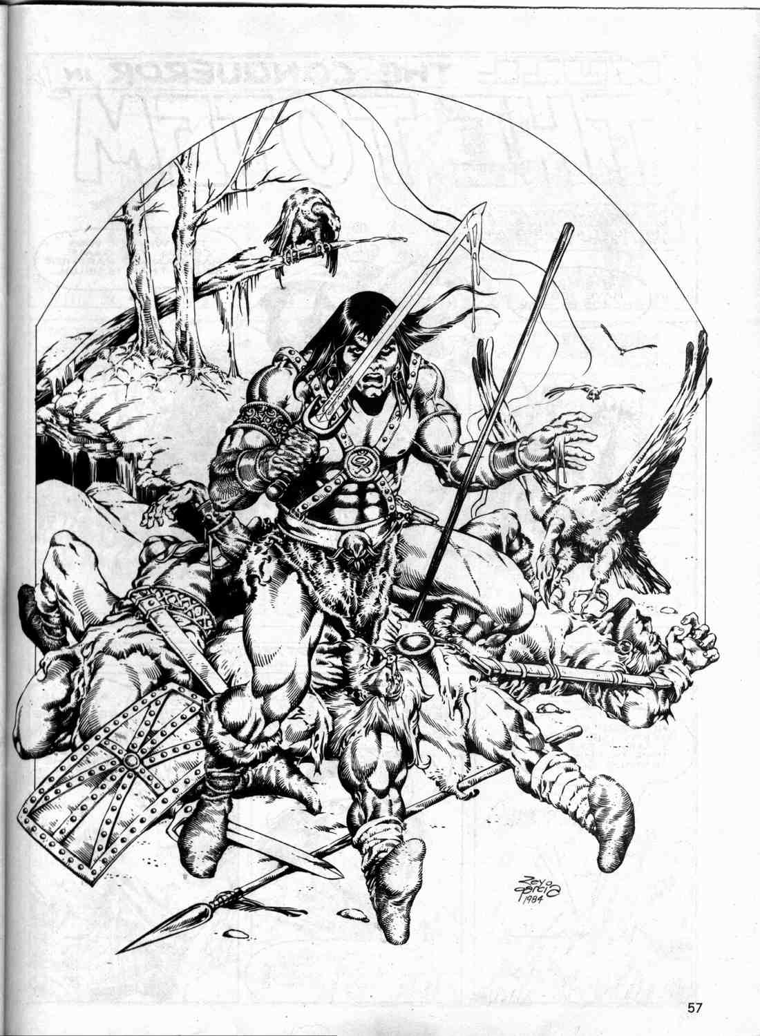 The Savage Sword Of Conan Issue #133 #134 - English 56