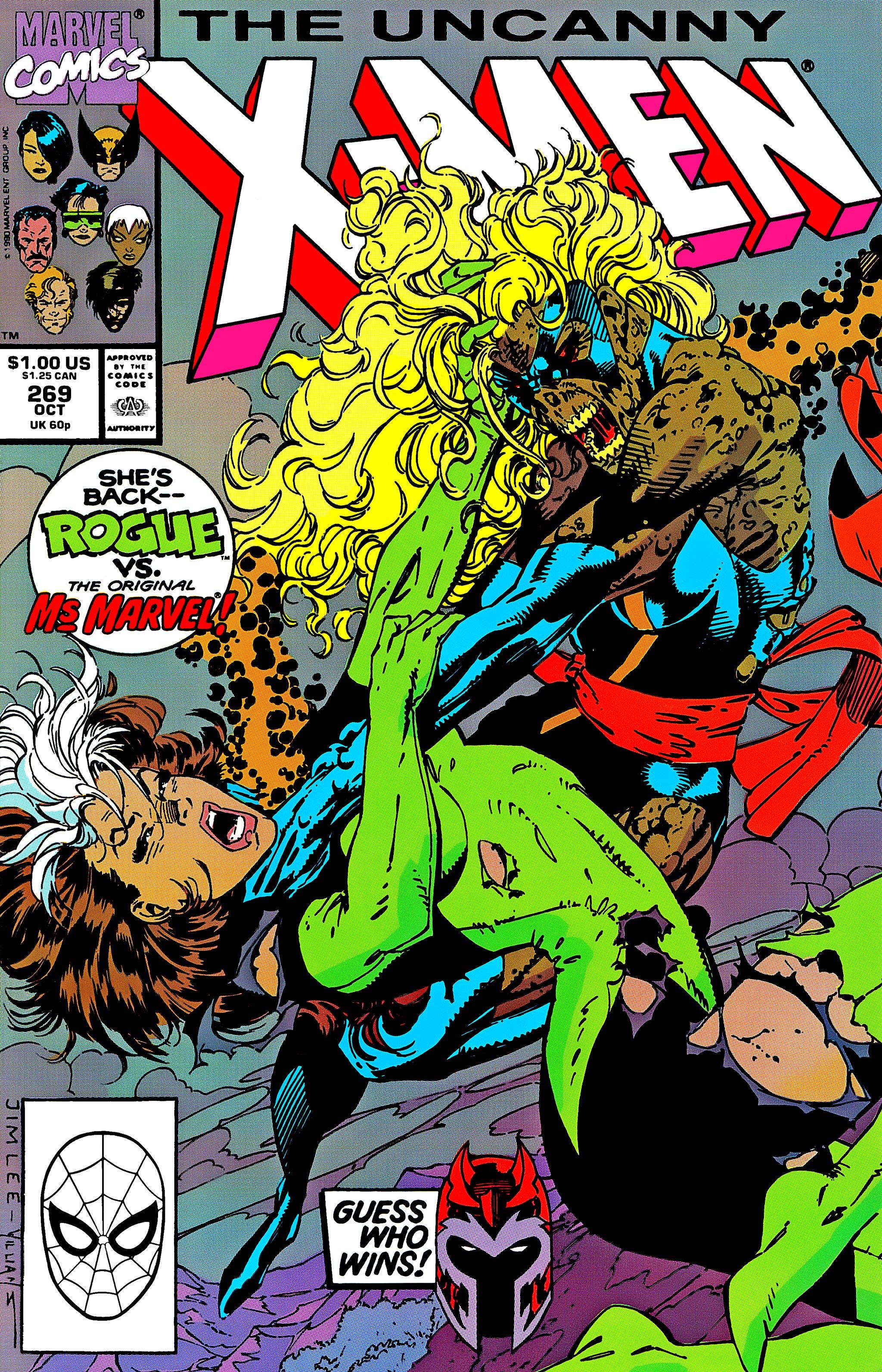 Uncanny X-Men (1963) 269 Page 1