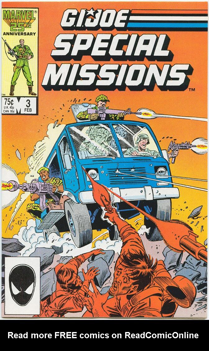 Special Missions GI Joe Issue 3! Marvel Comics