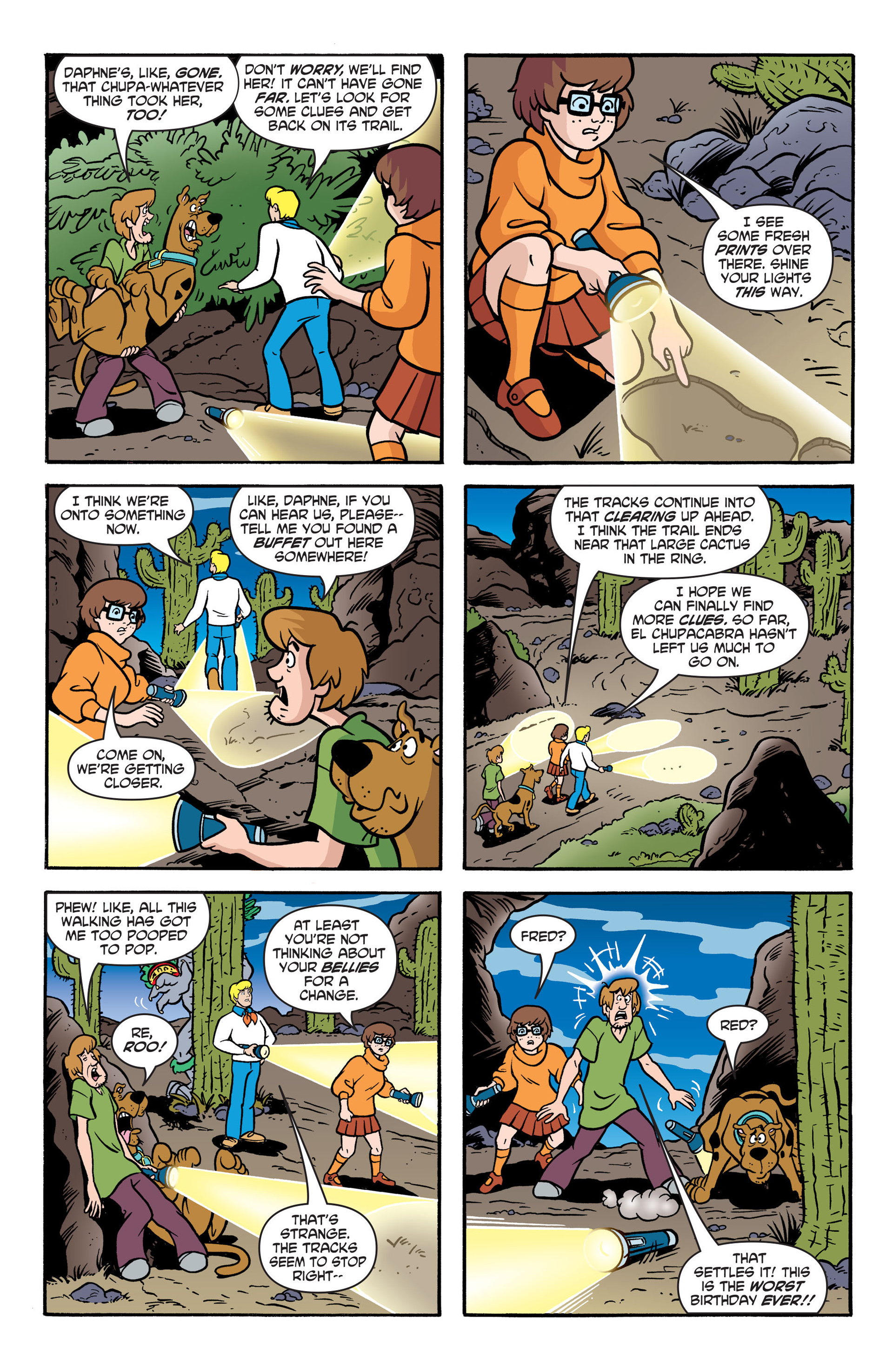 Read online Scooby-Doo: Where Are You? comic -  Issue #41 - 20