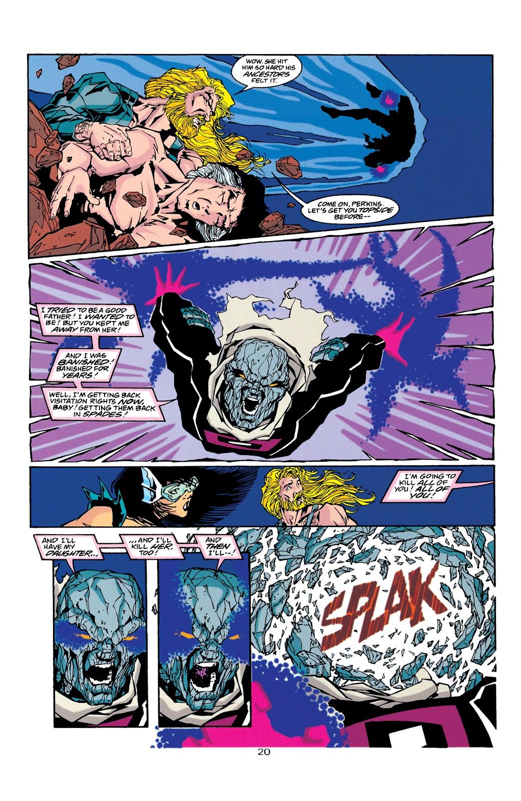 Aquaman (1994) Issue #39 #45 - English 20