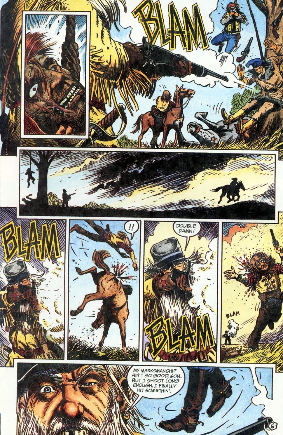 Jonah Hex: Two-Gun Mojo Issue #1 #1 - English 8