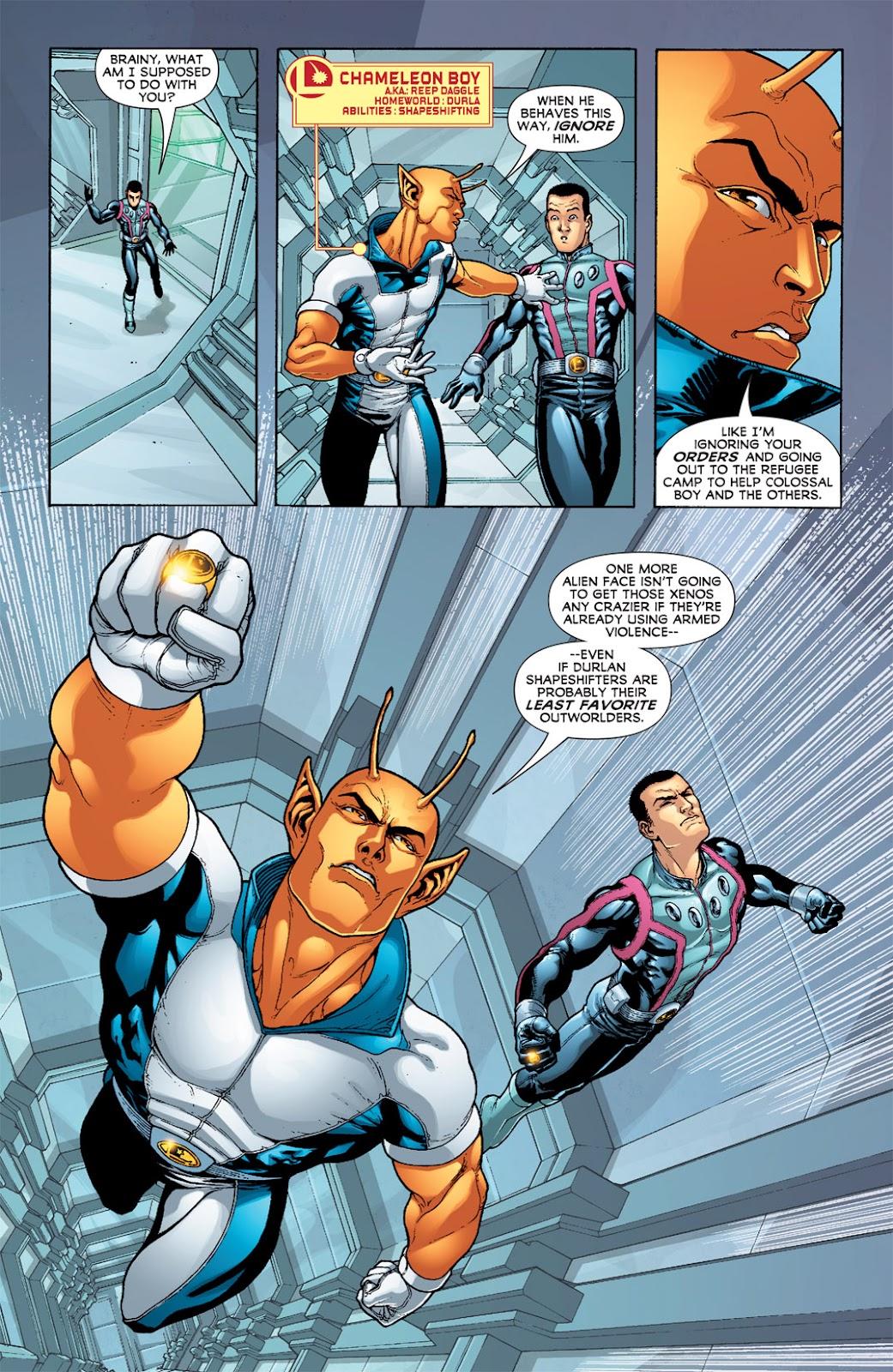 Legion of Super-Heroes (2010) Issue #5 #6 - English 18