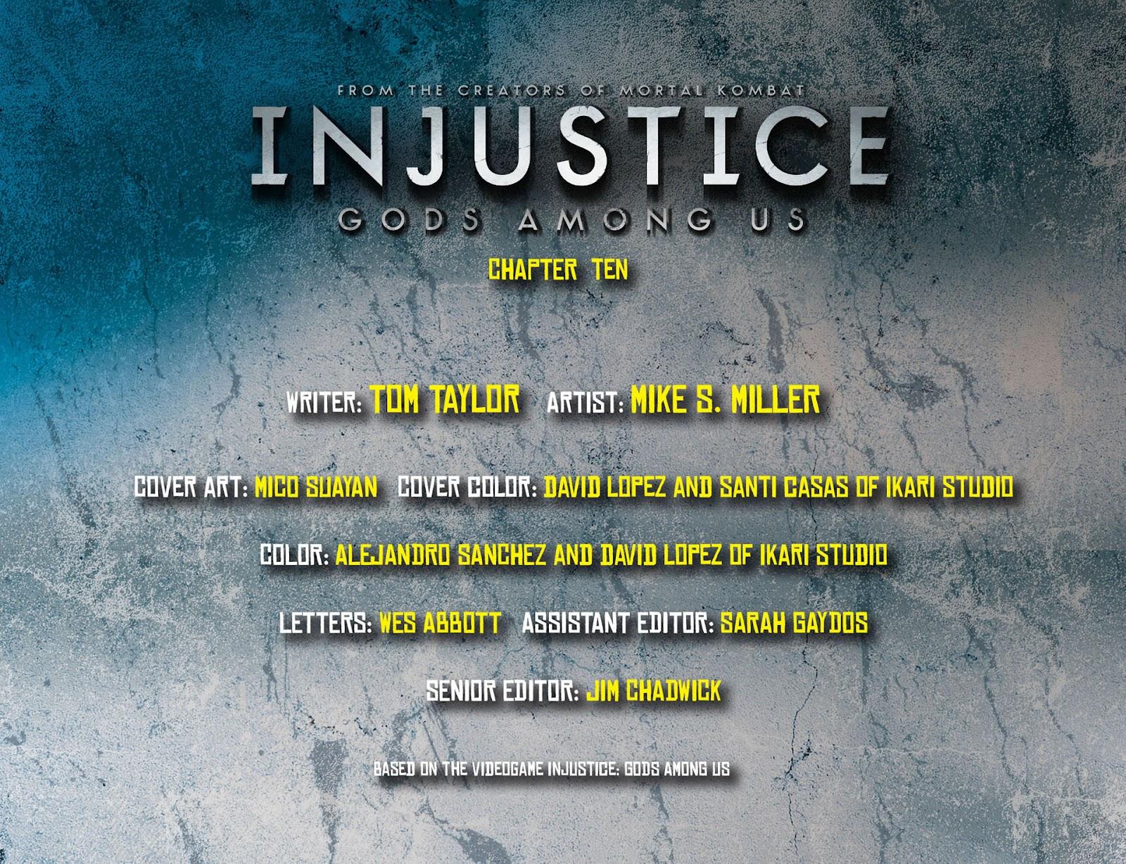 Injustice: Gods Among Us [I] Issue #10 #11 - English 2