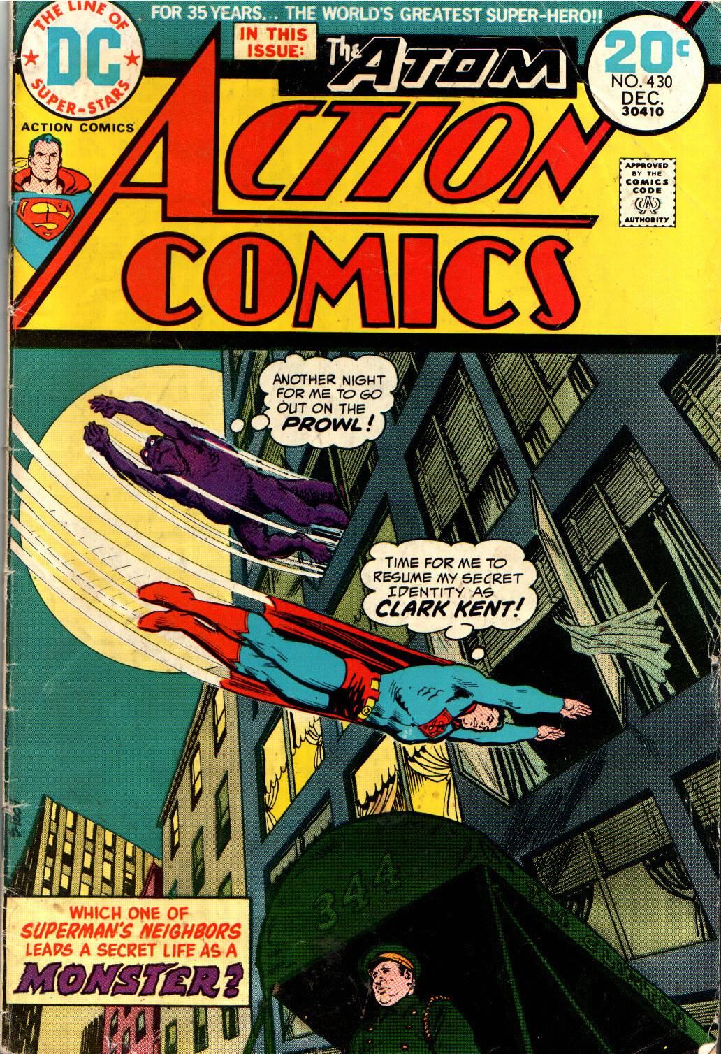 Action Comics (1938) 430 Page 1