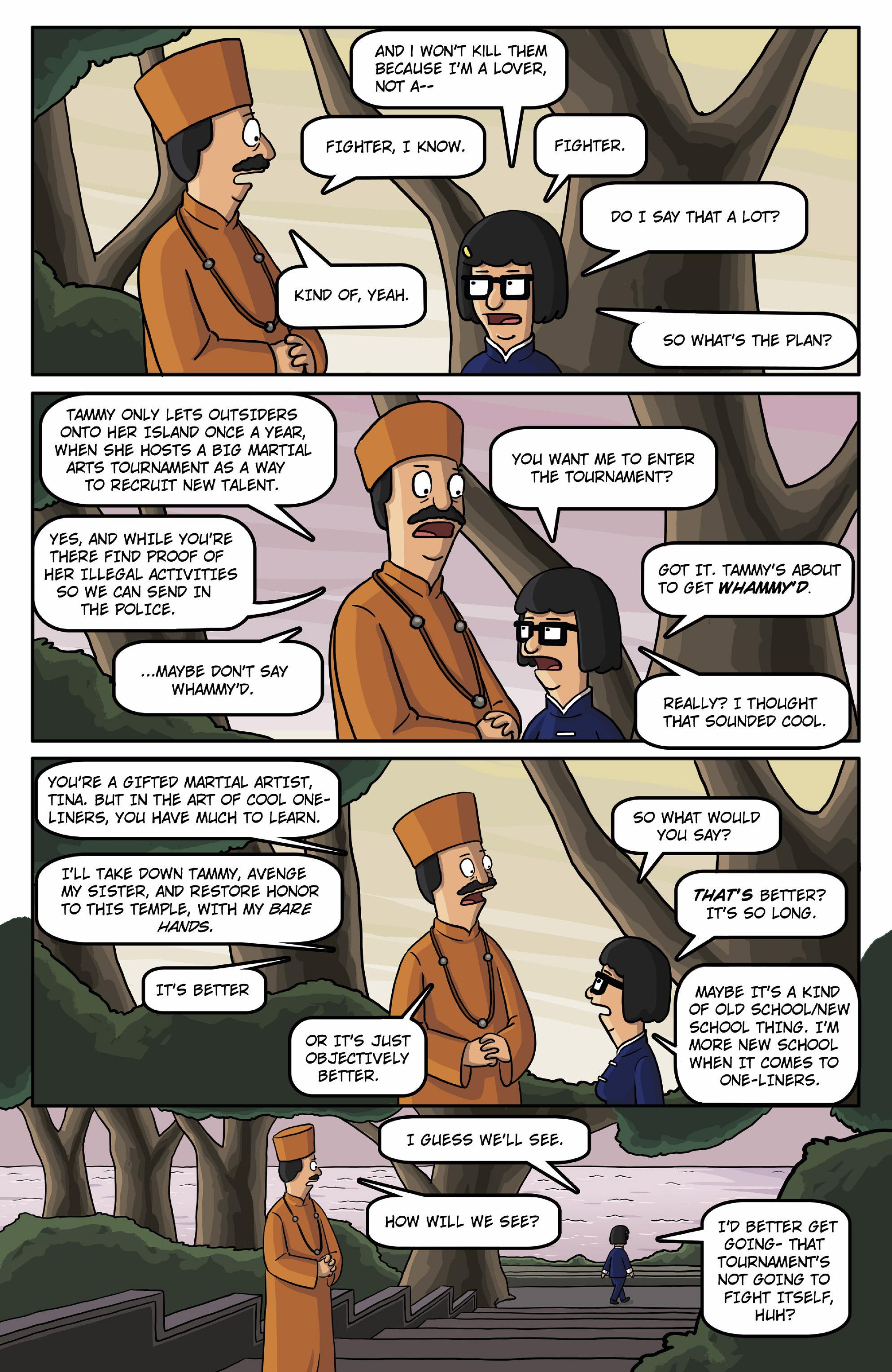 Read online Bob's Burgers (2015) comic -  Issue #13 - 7
