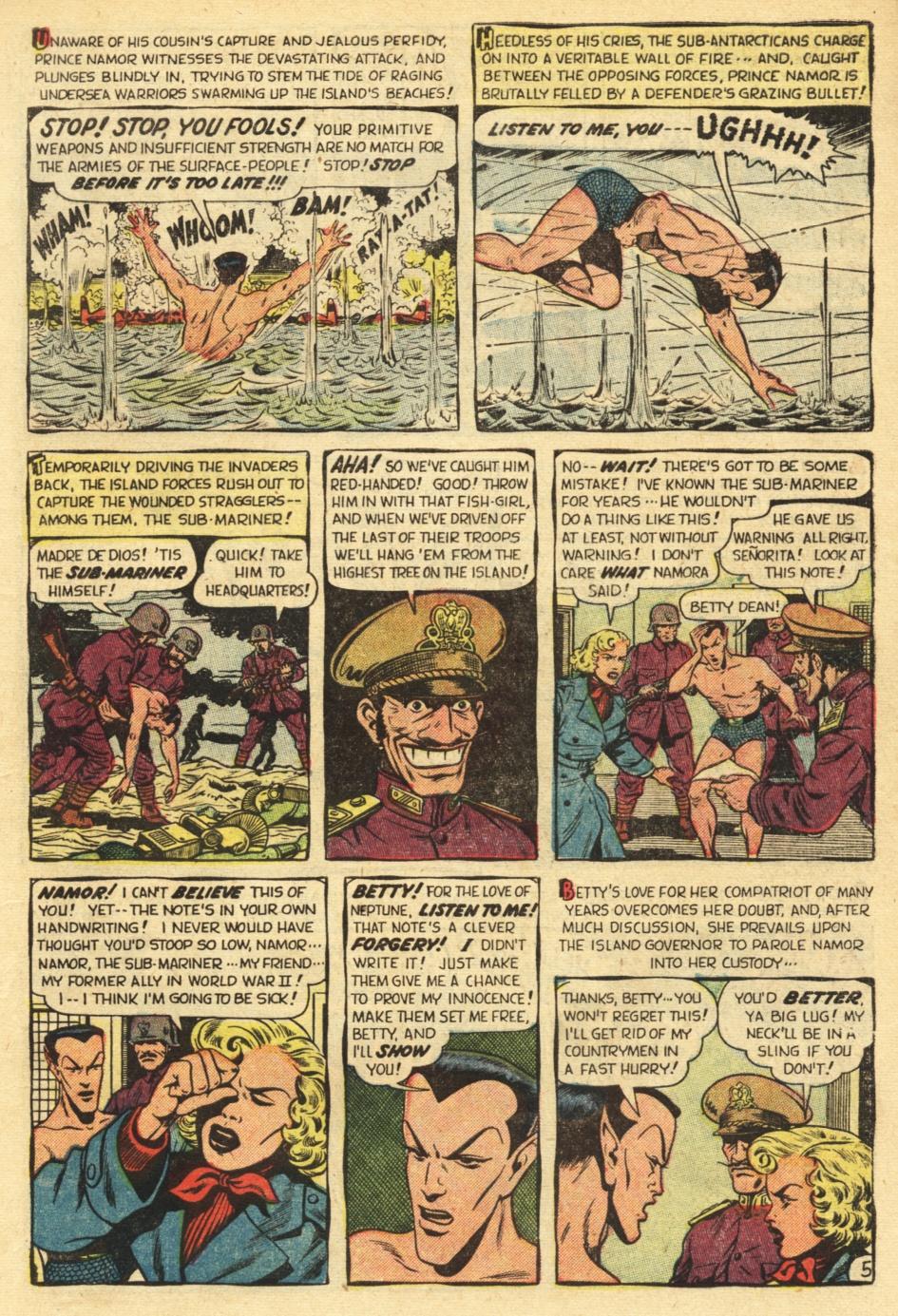 Sub-Mariner Comics #35 #35 - English 7