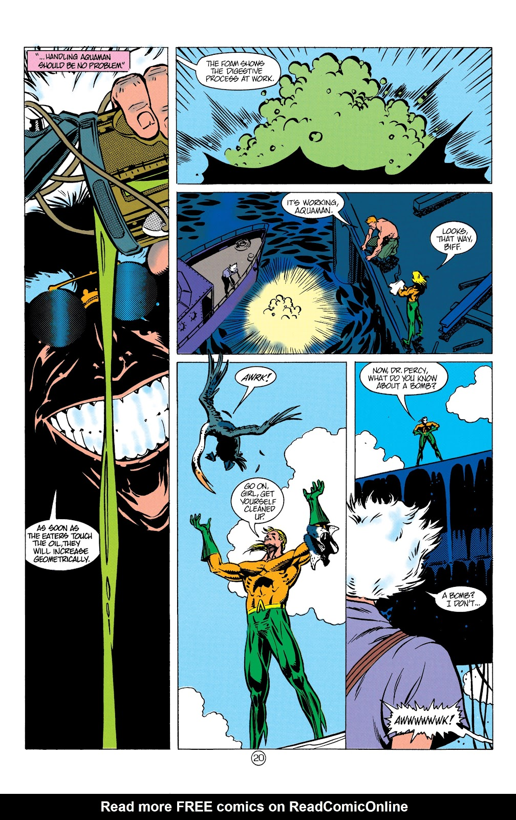 Aquaman (1991) Issue #9 #9 - English 21