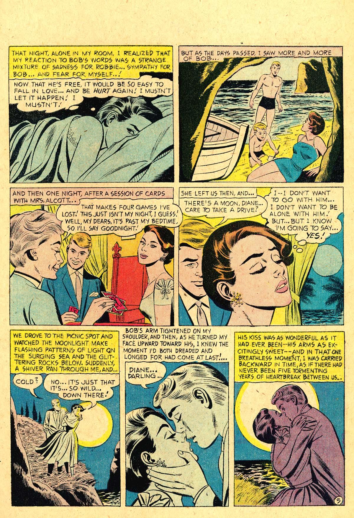 Read online Secret Hearts comic -  Issue #36 - 7