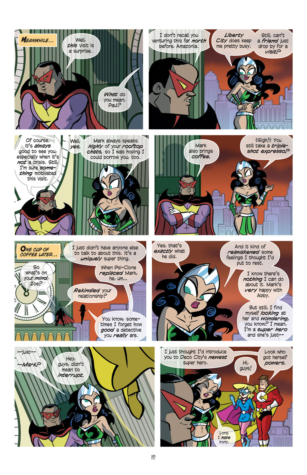 Read online Love and Capes comic -  Issue #10 - 12