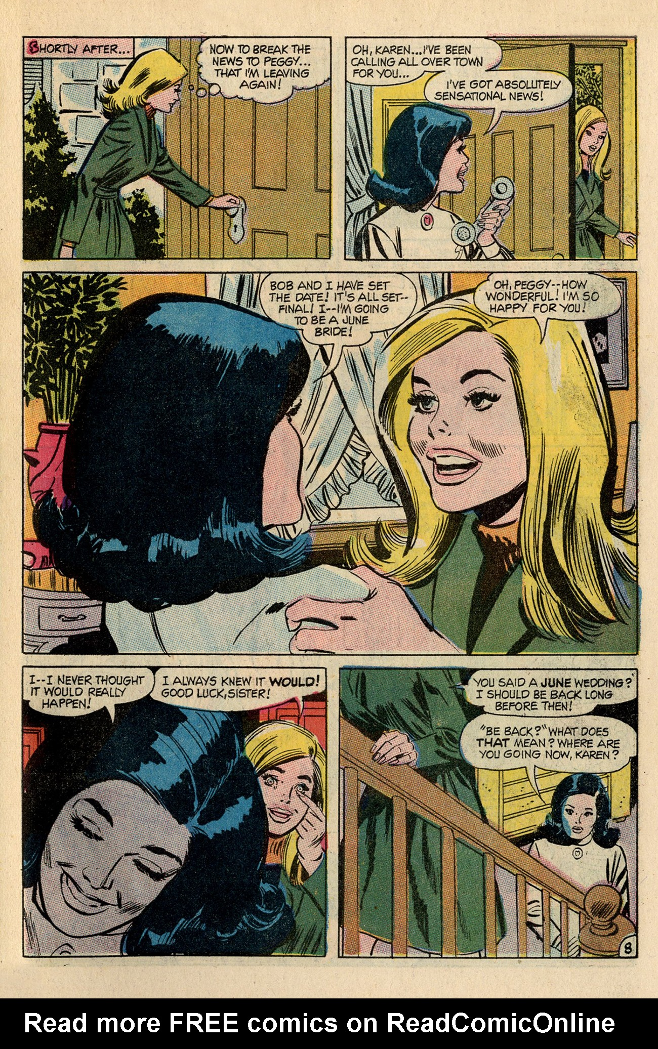 Read online Secret Hearts comic -  Issue #138 - 27