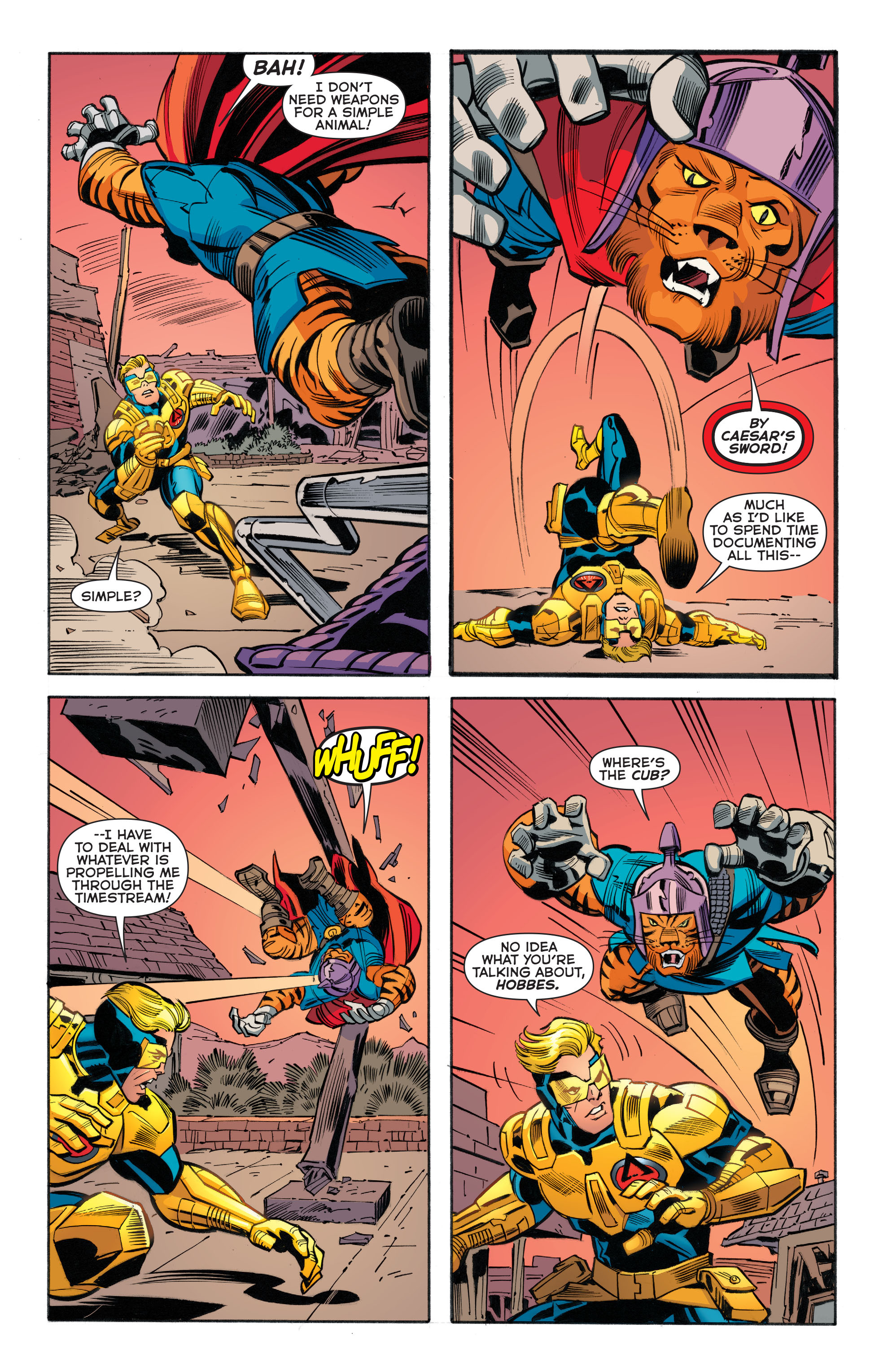 Read online Booster Gold: Futures End comic -  Issue # Full - 14