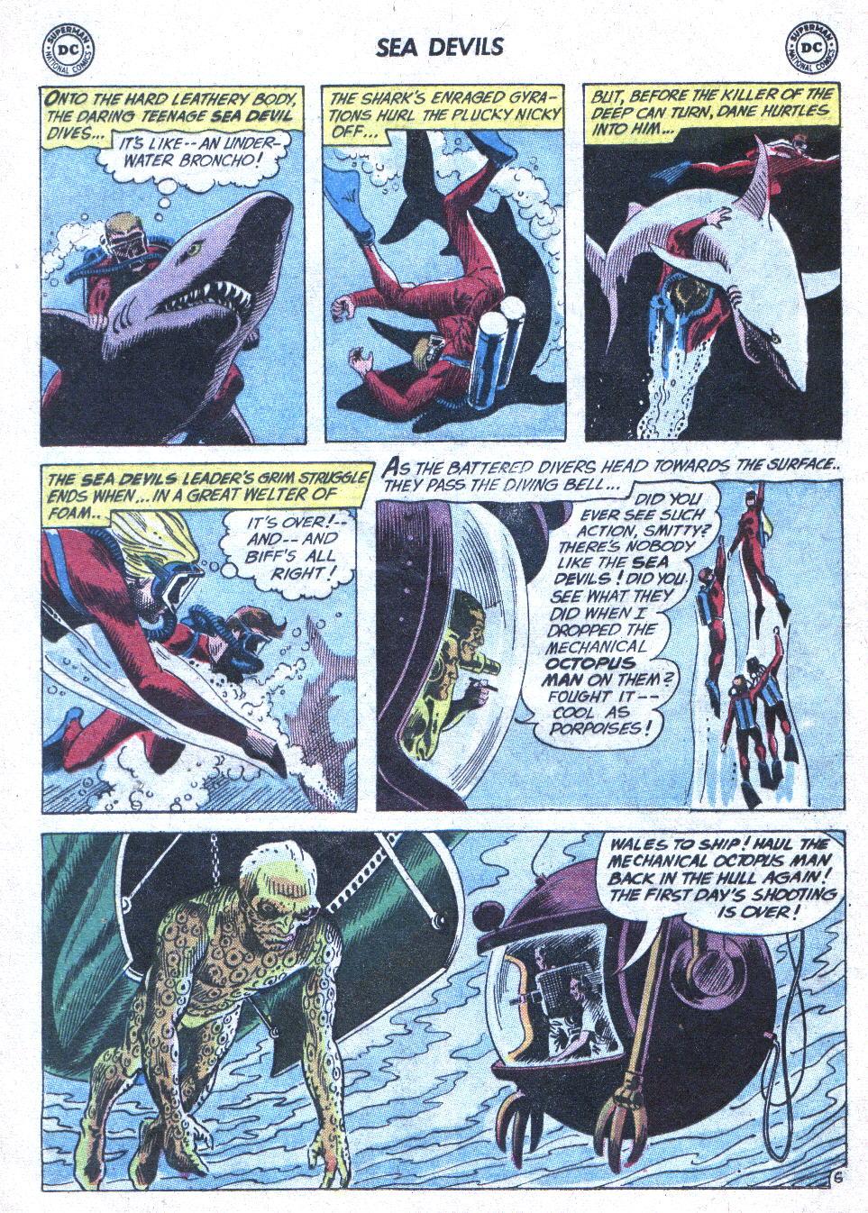 Read online Sea Devils comic -  Issue #1 - 9