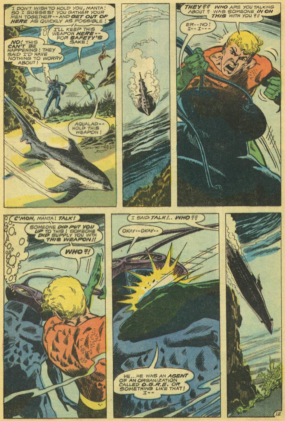 Aquaman (1962) Issue #53 #53 - English 16