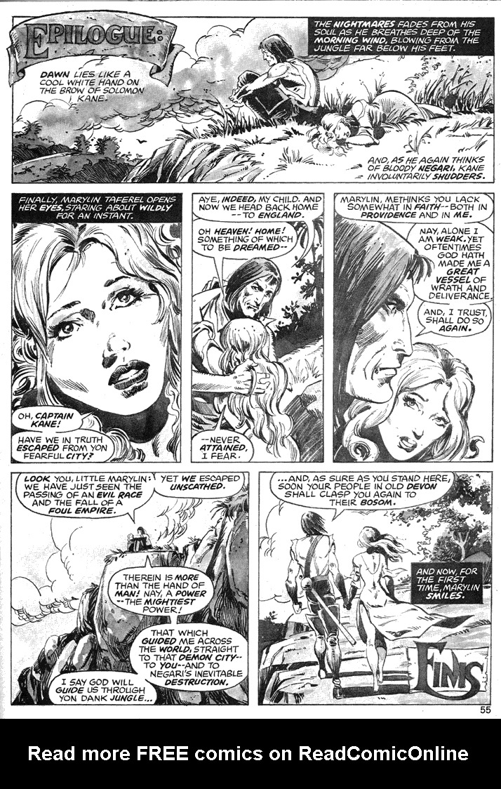 The Savage Sword Of Conan Issue #39 #40 - English 54