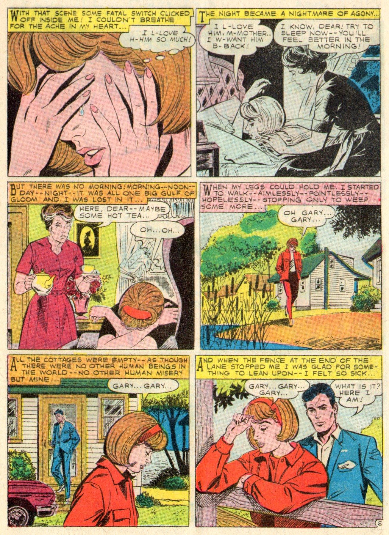 Read online Secret Hearts comic -  Issue #117 - 17