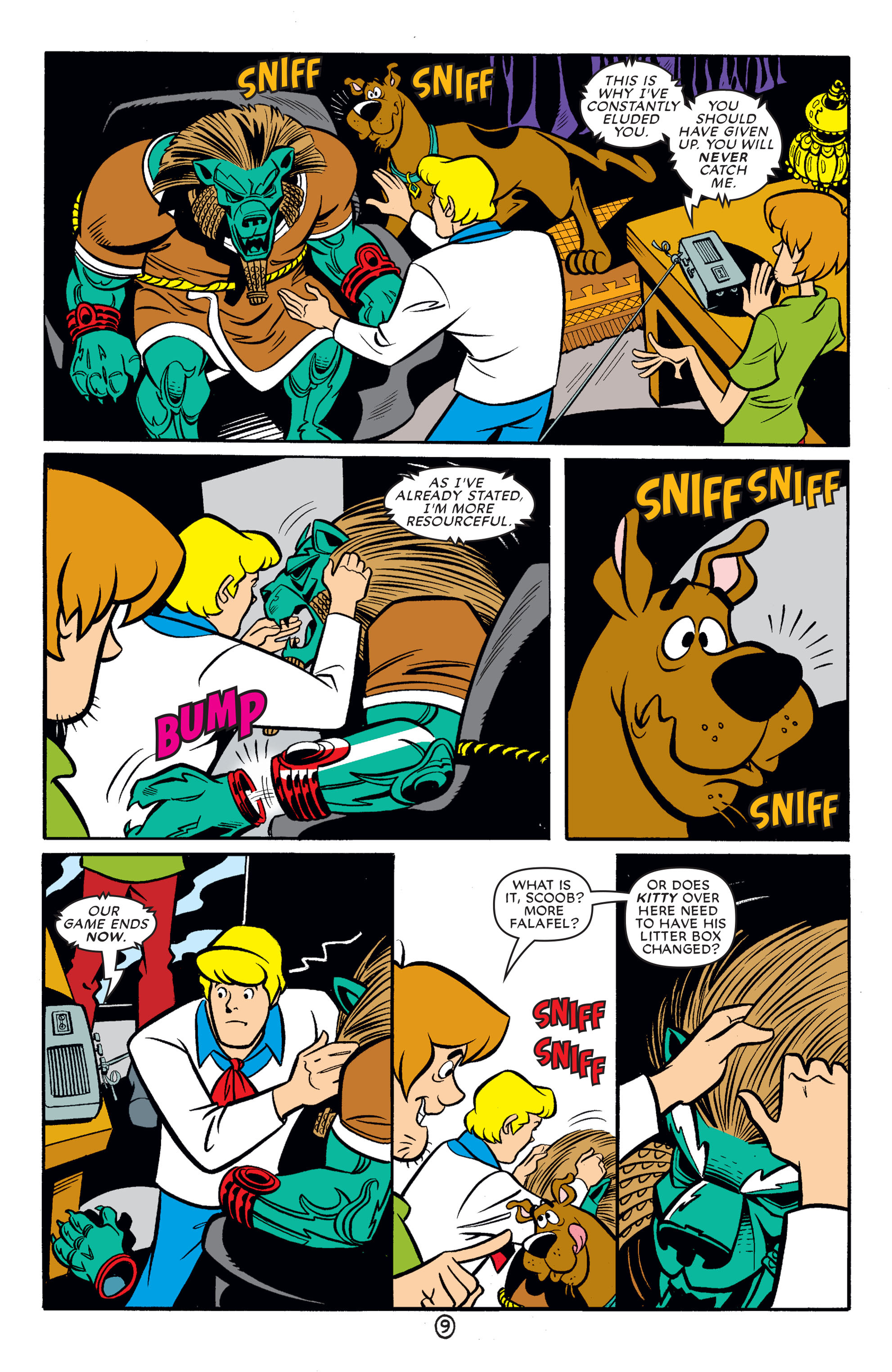 Read online Scooby-Doo (1997) comic -  Issue #62 - 20