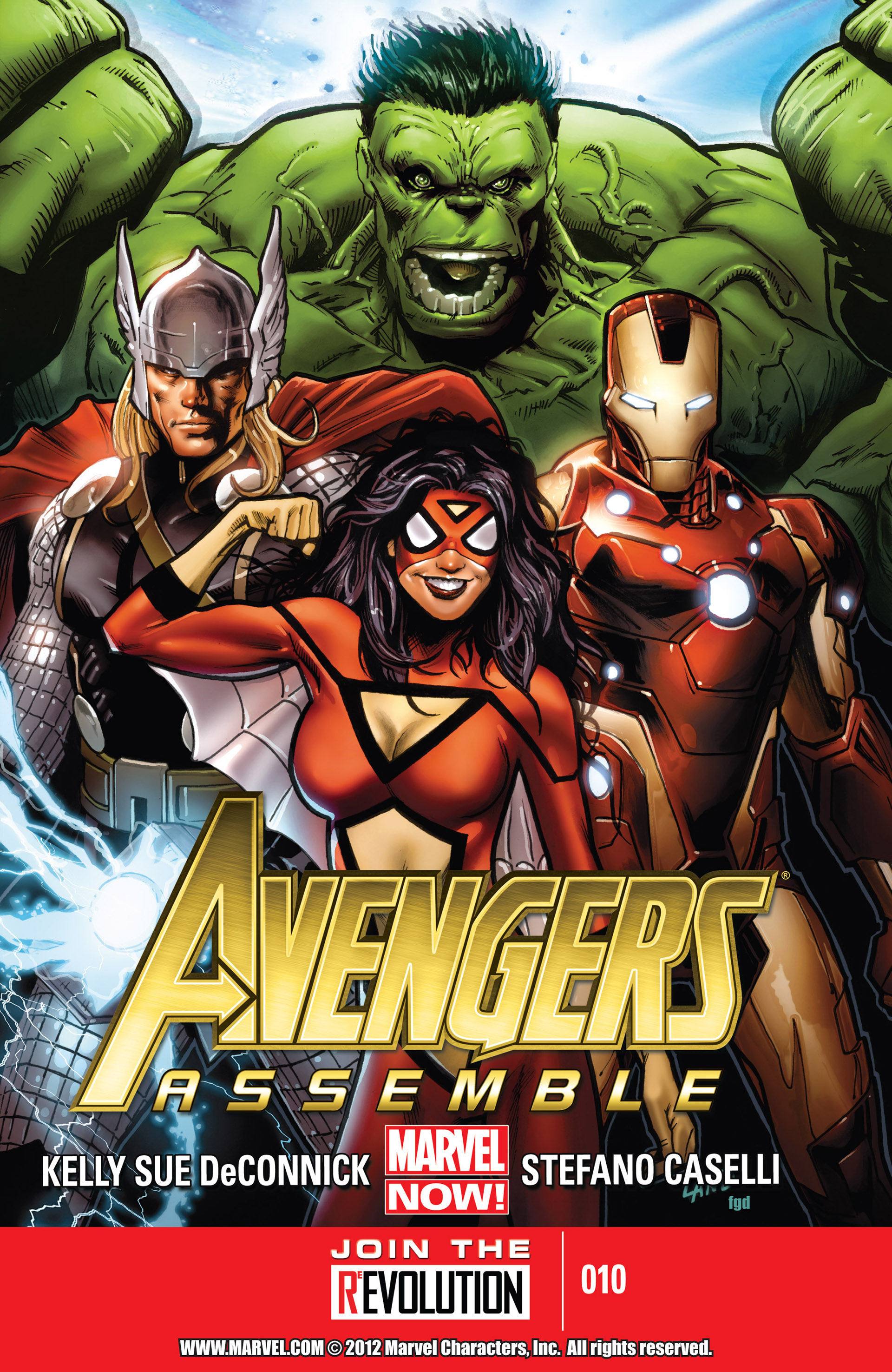 Avengers Assemble (2012) 10 Page 1