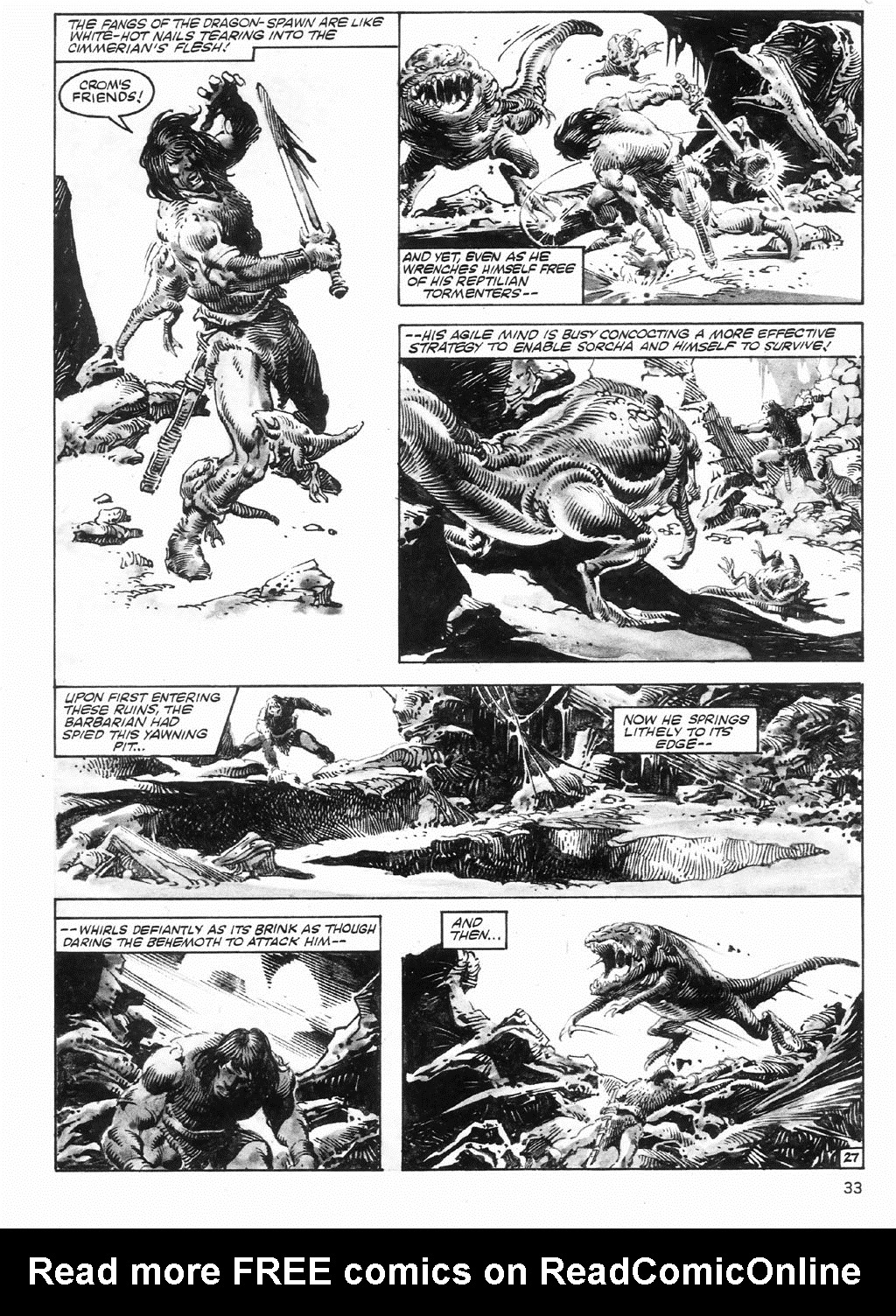 The Savage Sword Of Conan Issue #98 #99 - English 33