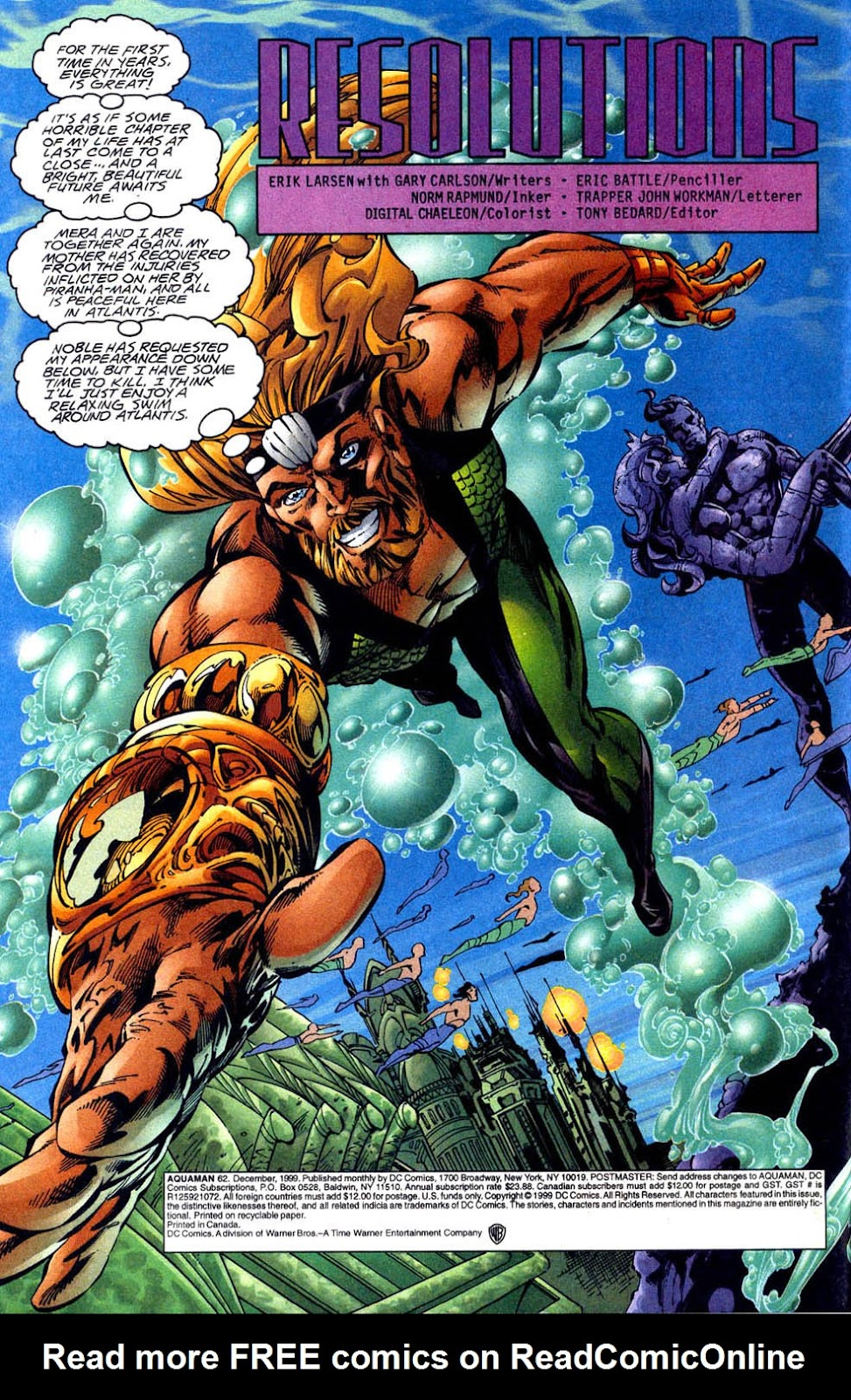 Aquaman (1994) Issue #62 #68 - English 3