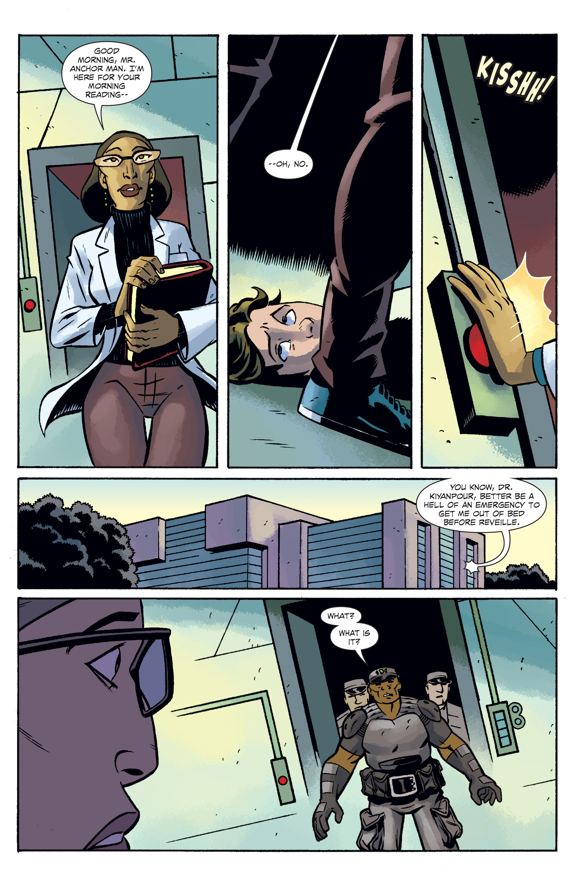 Read online The Anchor comic -  Issue # TPB 2 - 25