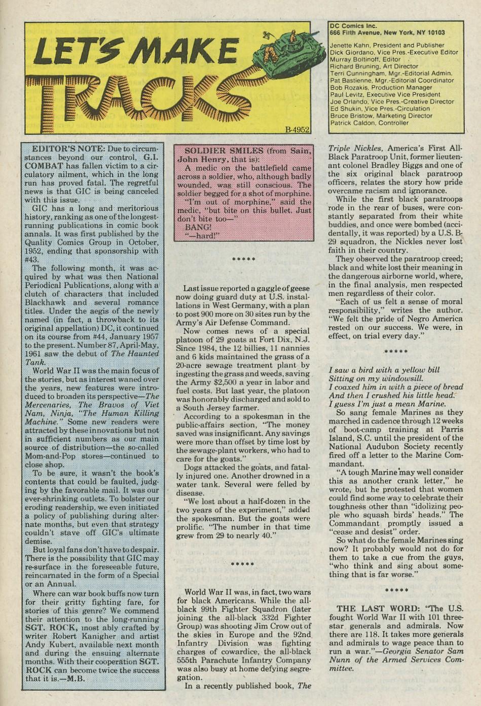 G.I. Combat (1952) Issue #288 #288 - English 32