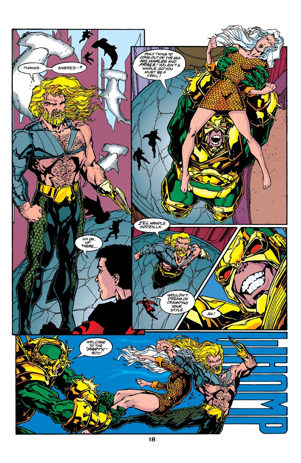 Aquaman (1994) Issue #37 #43 - English 18