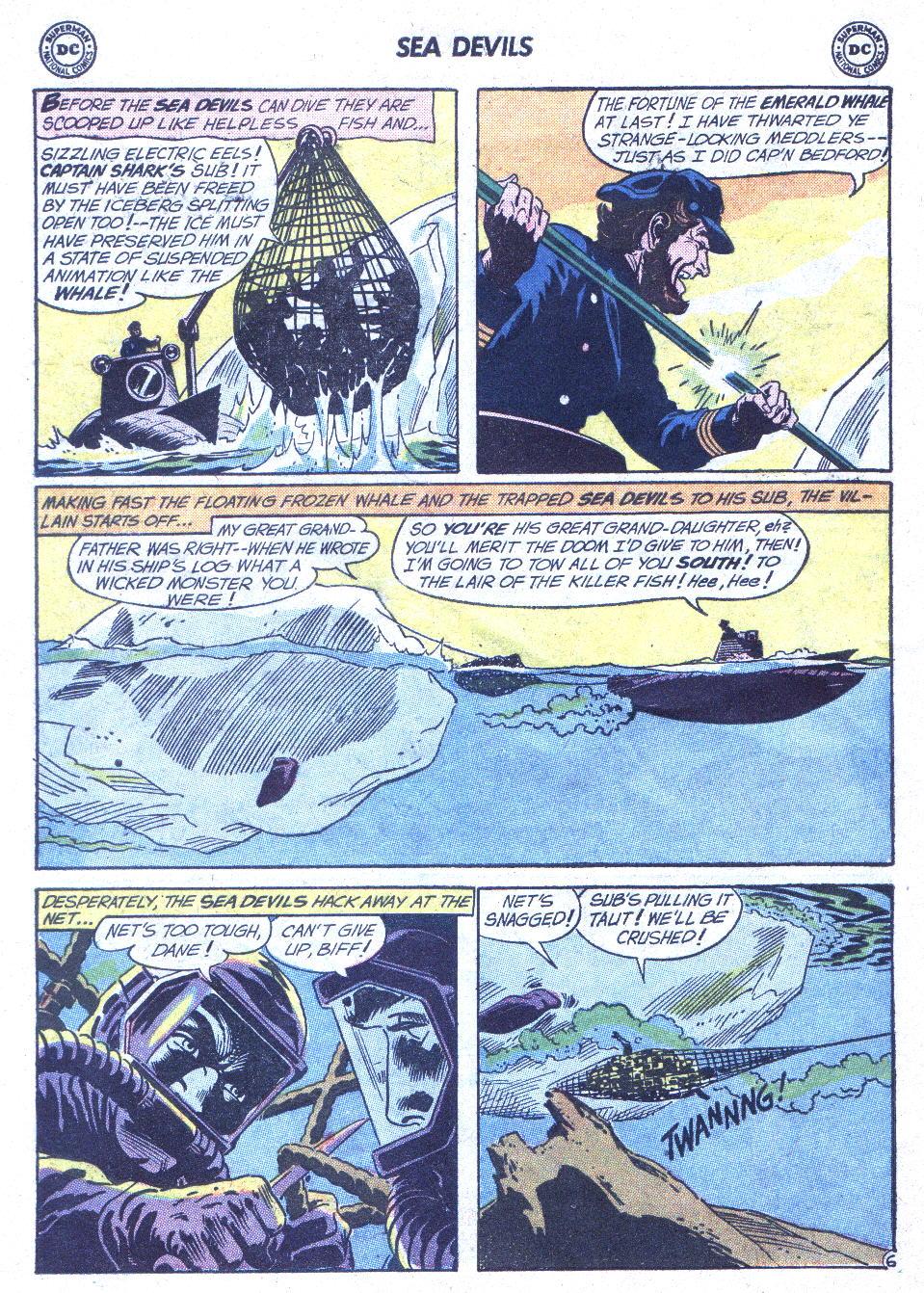Read online Sea Devils comic -  Issue #1 - 27