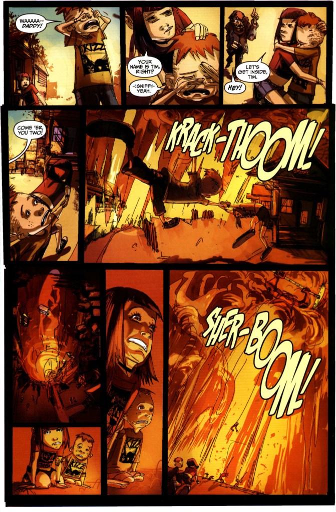 Strange Girl Issue #1 #2 - English 11