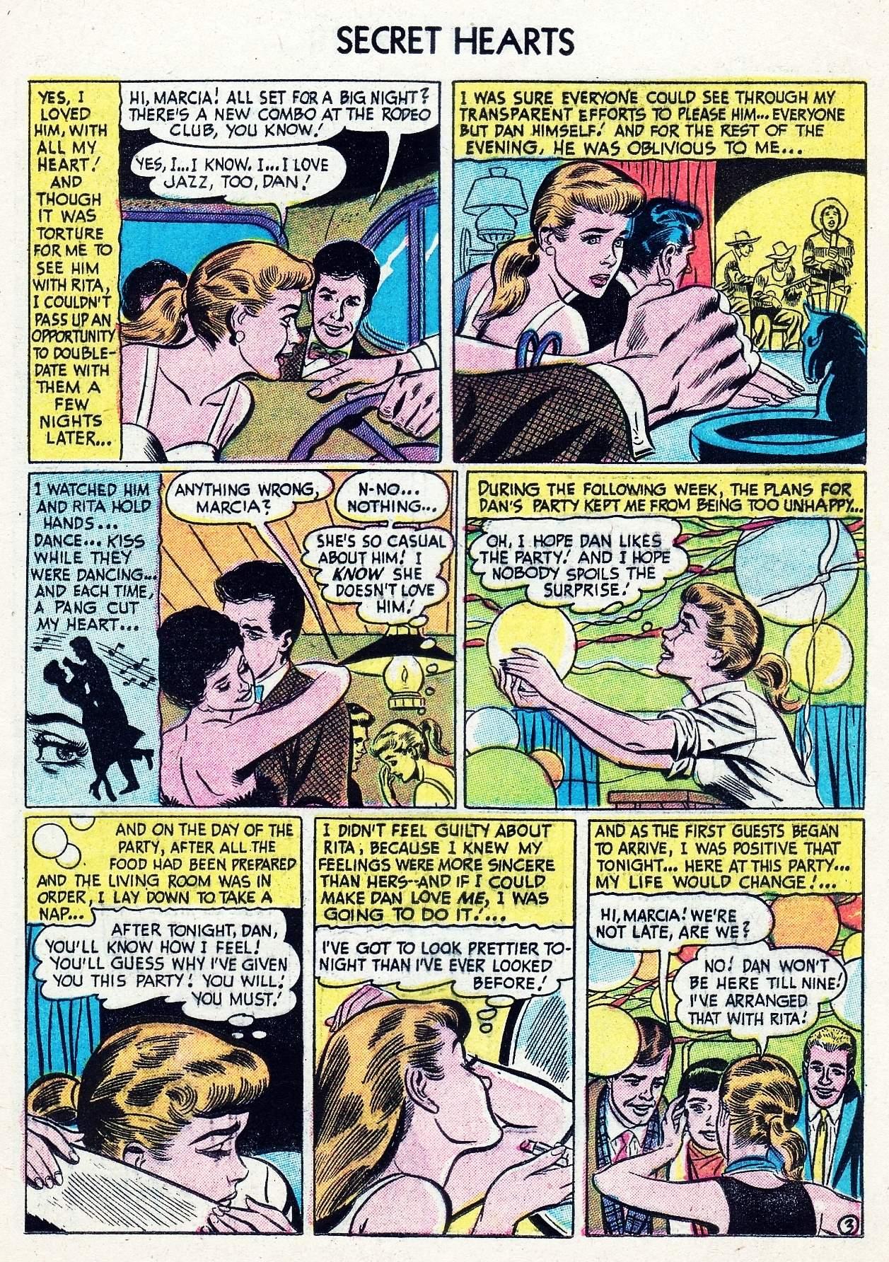 Read online Secret Hearts comic -  Issue #29 - 13