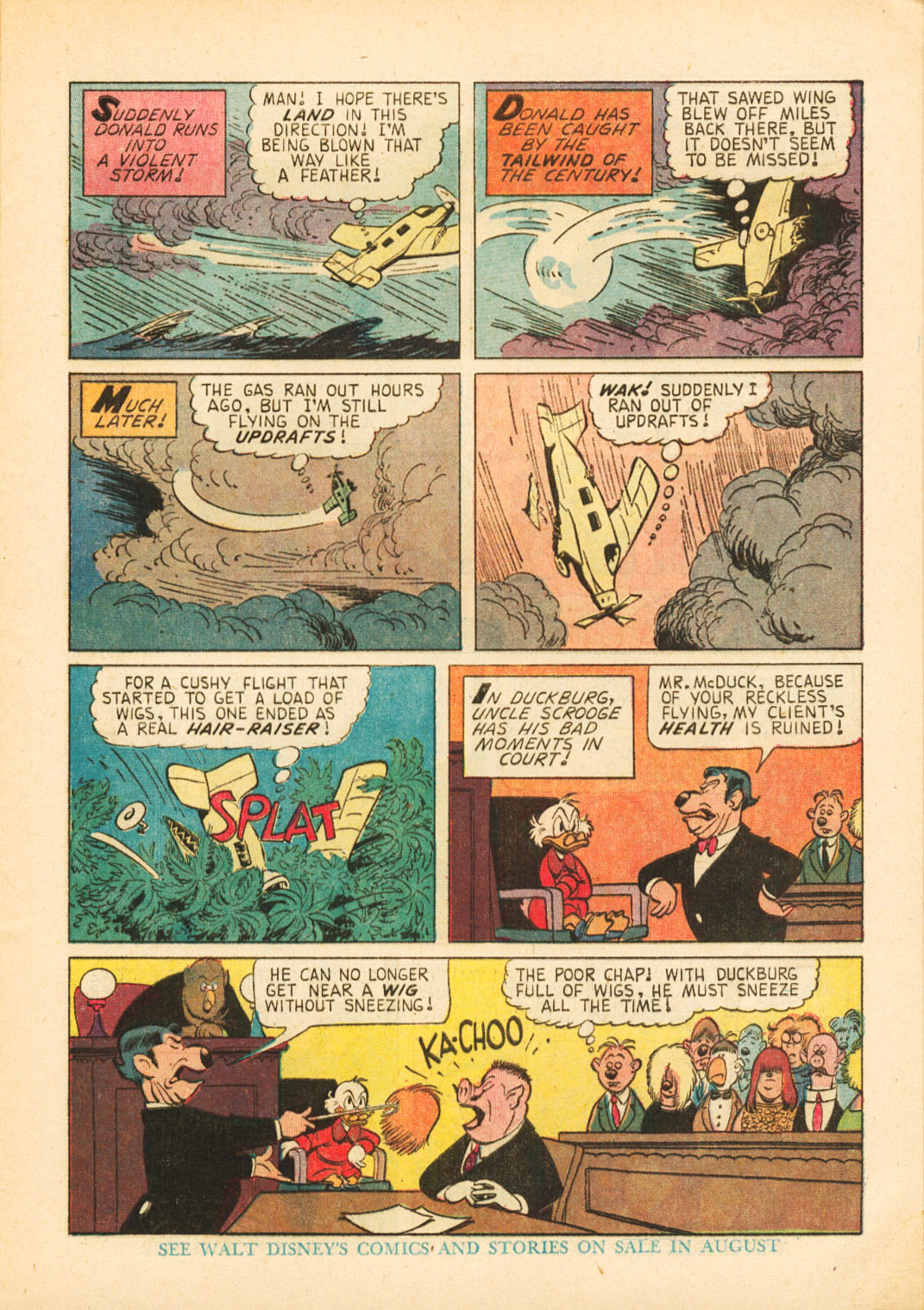 Uncle Scrooge (1953) Issue #52 #52 - English 9