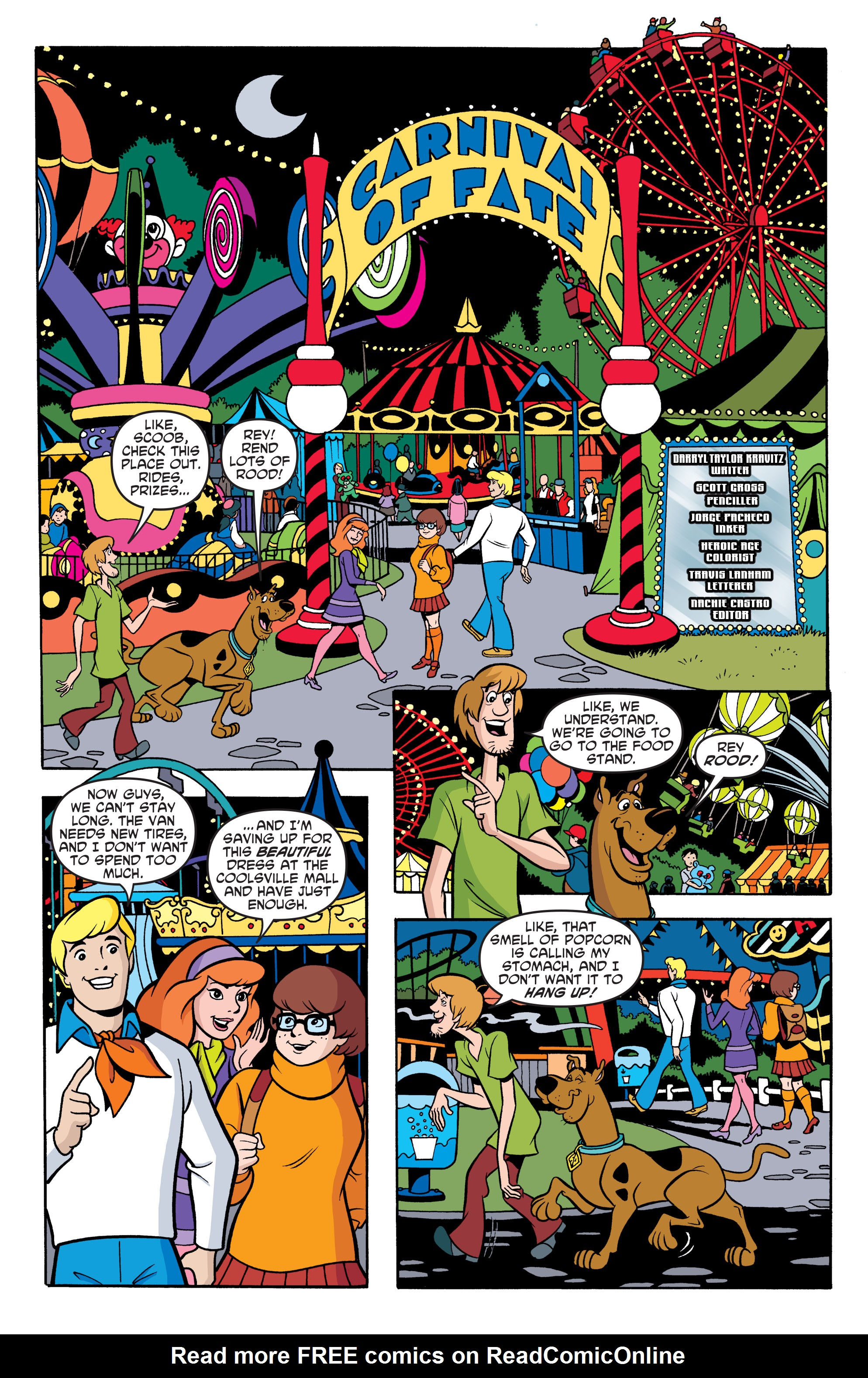 Read online Scooby-Doo: Where Are You? comic -  Issue #67 - 18