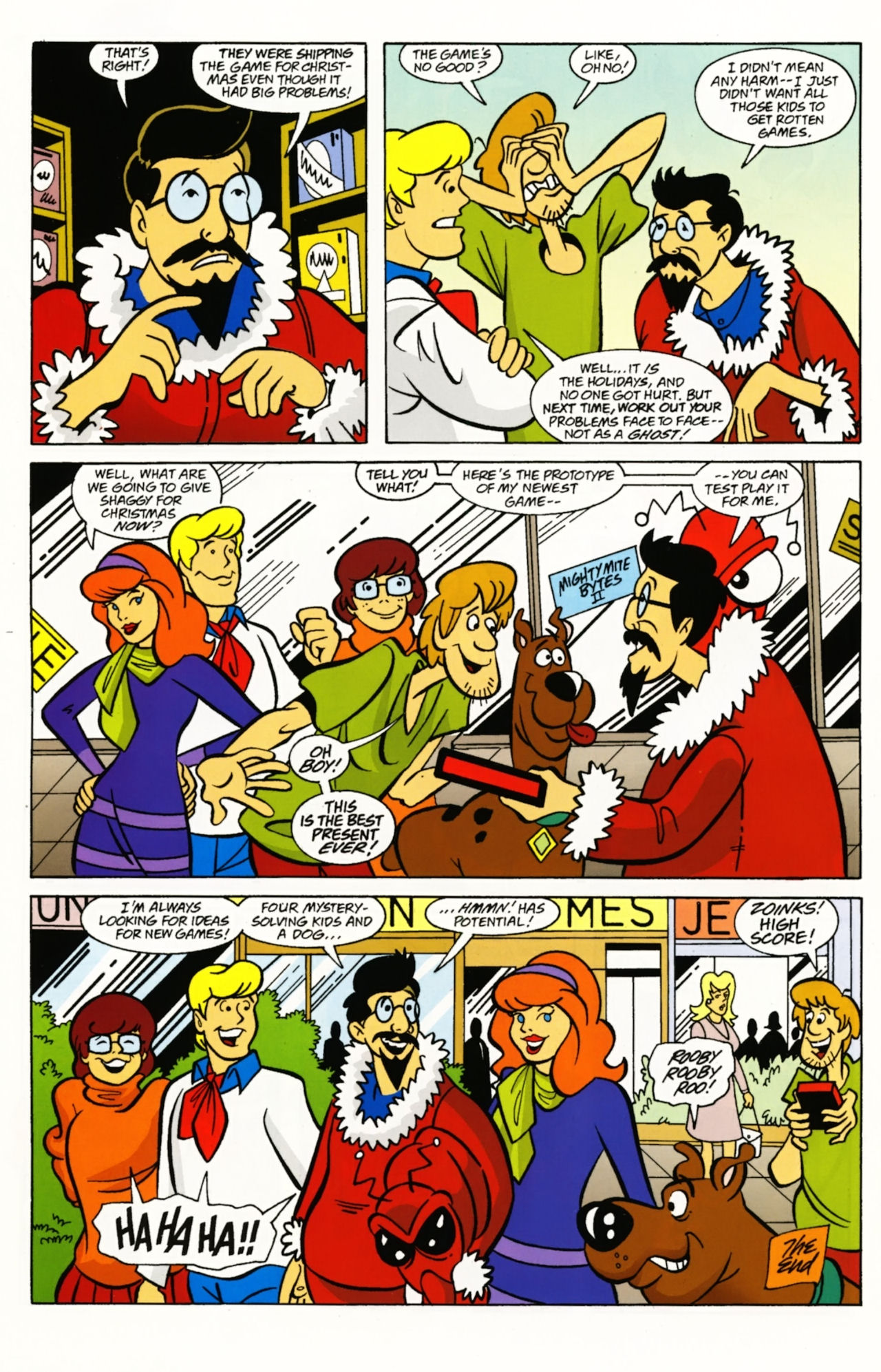 Read online Scooby-Doo: Where Are You? comic -  Issue #4 - 10