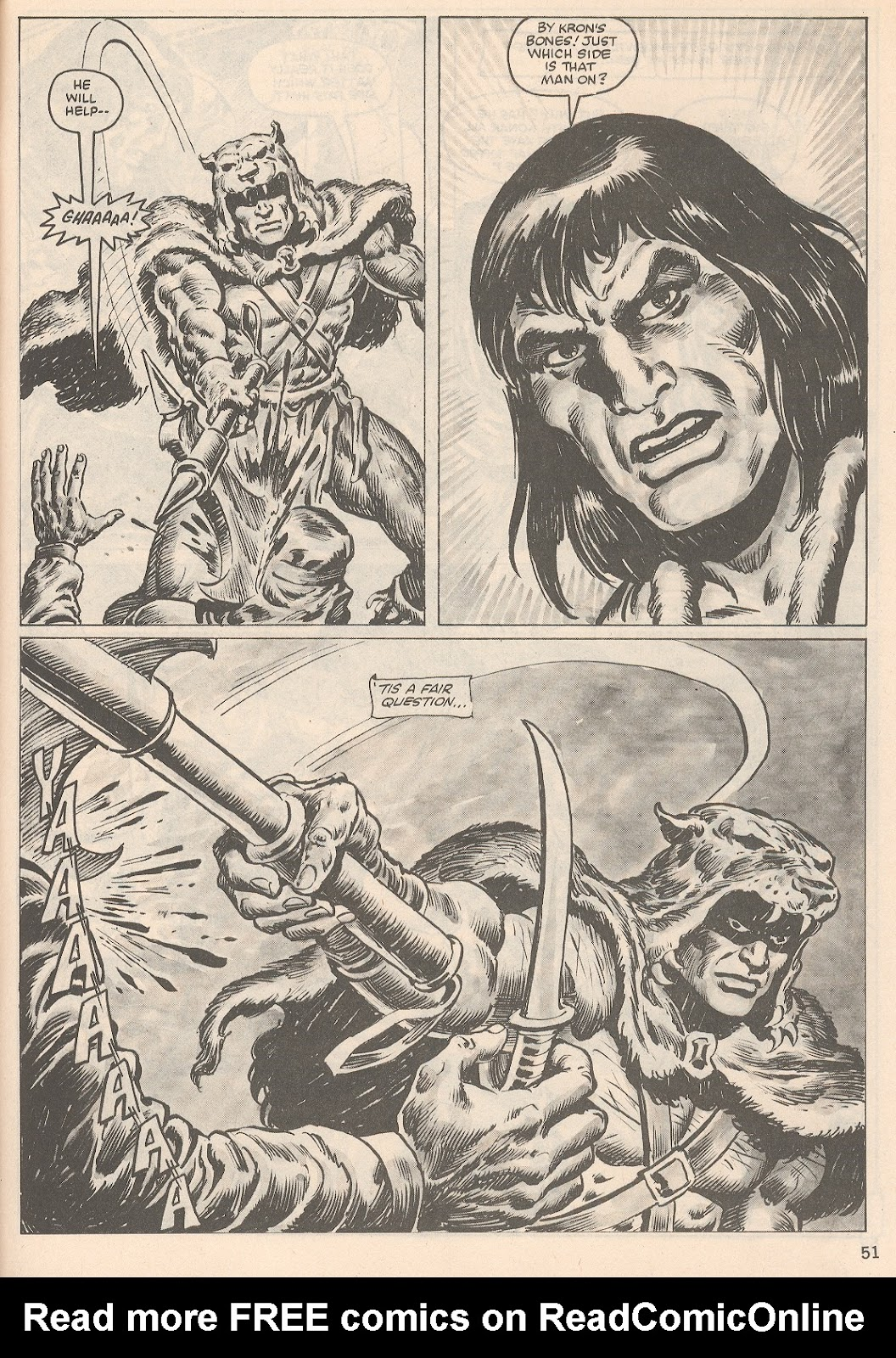 The Savage Sword Of Conan Issue #104 #105 - English 51