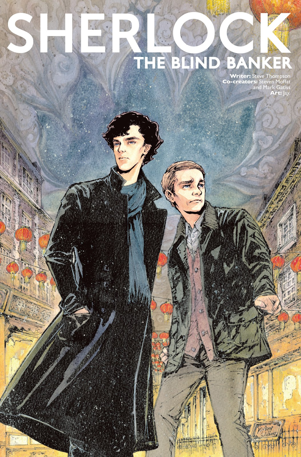 Sherlock: The Blind Banker Issue #1 #1 - English 4
