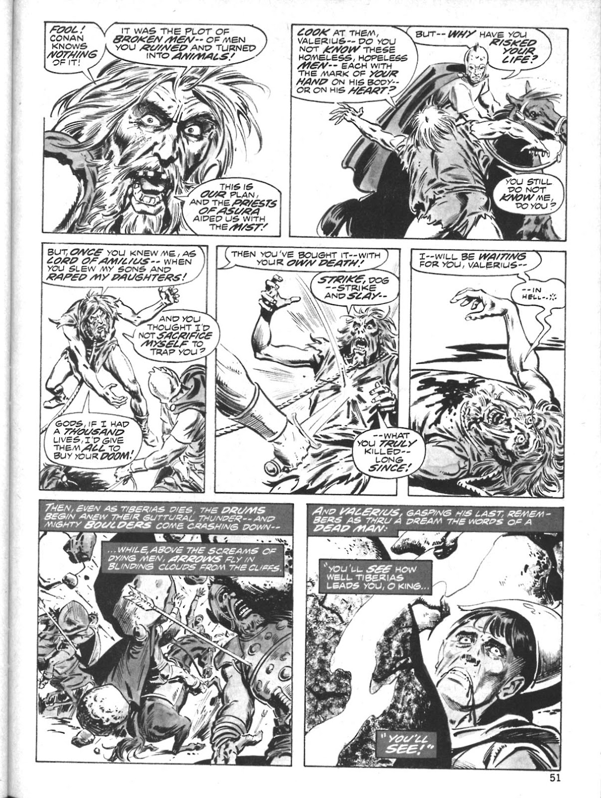 The Savage Sword Of Conan Issue #10 #11 - English 40