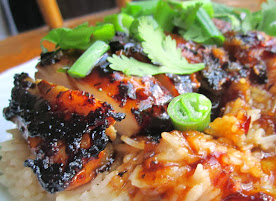 Sweet Lemon Ginger Glazed Chicken
