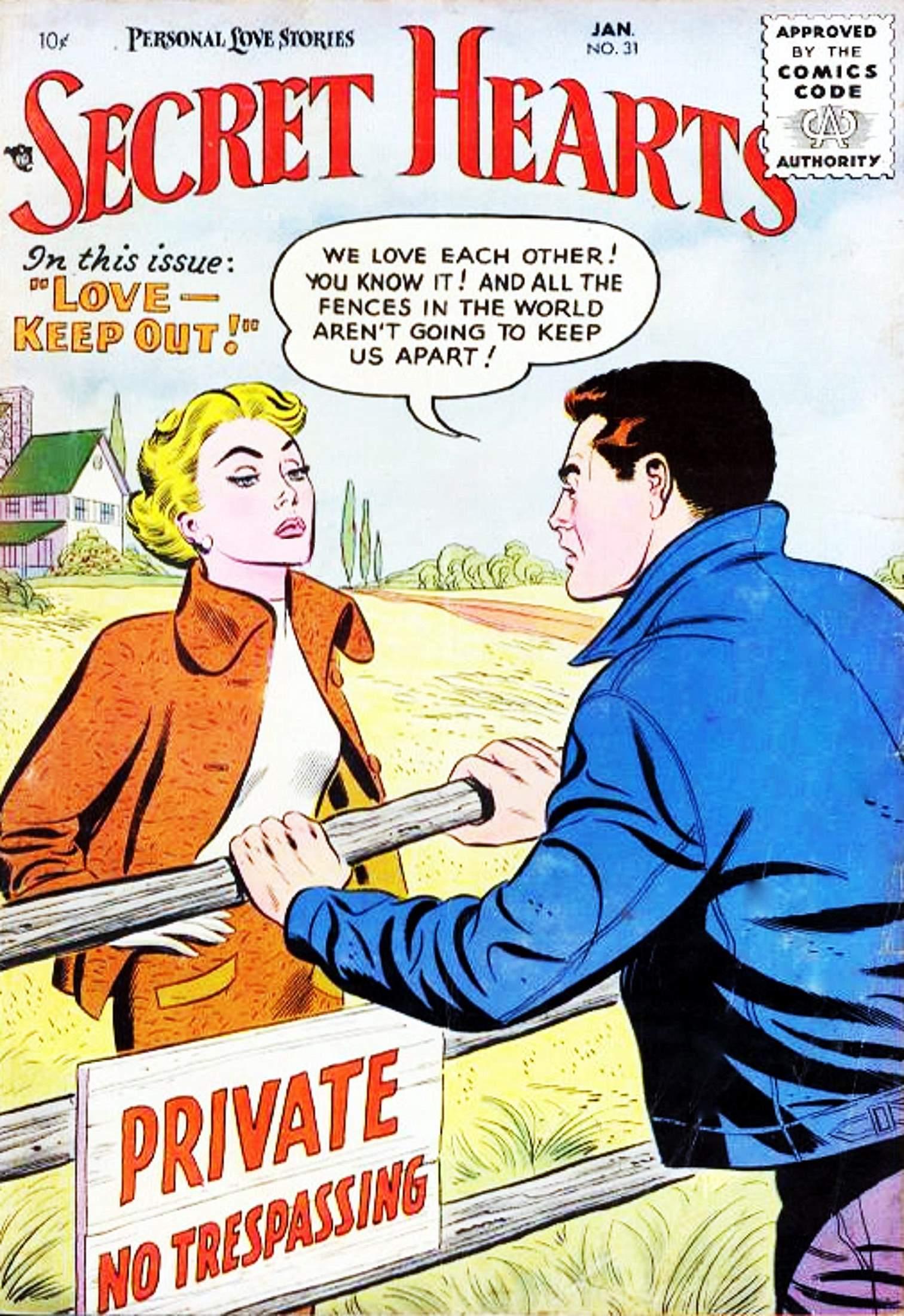 Read online Secret Hearts comic -  Issue #31 - 1