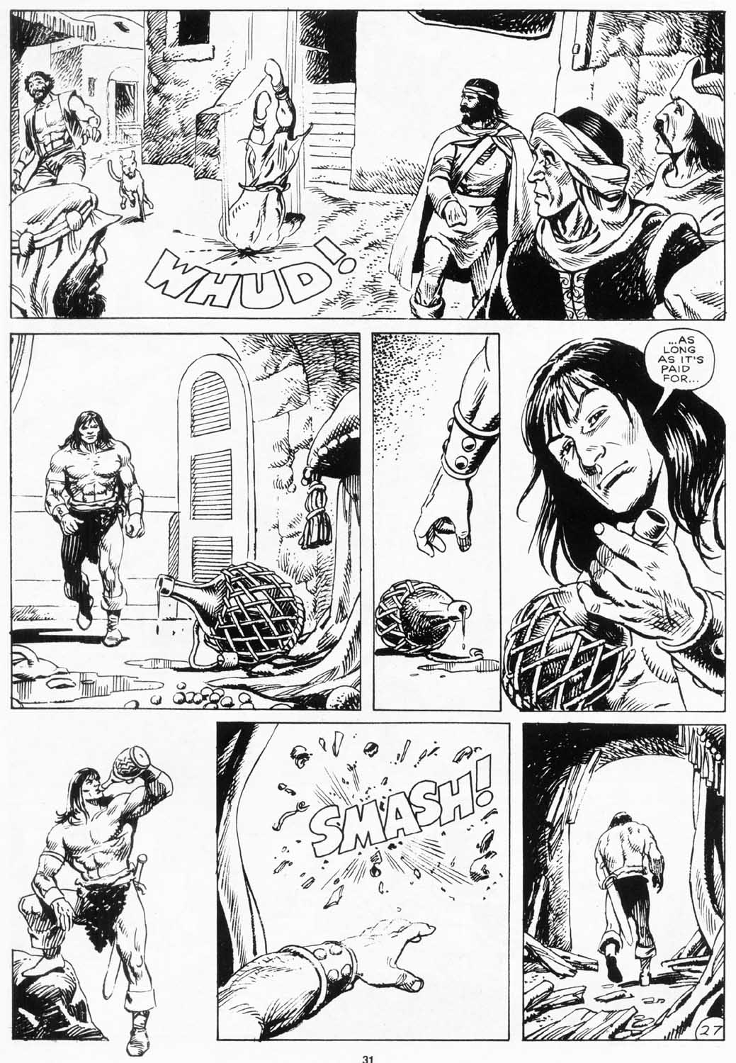 The Savage Sword Of Conan Issue #156 #157 - English 31